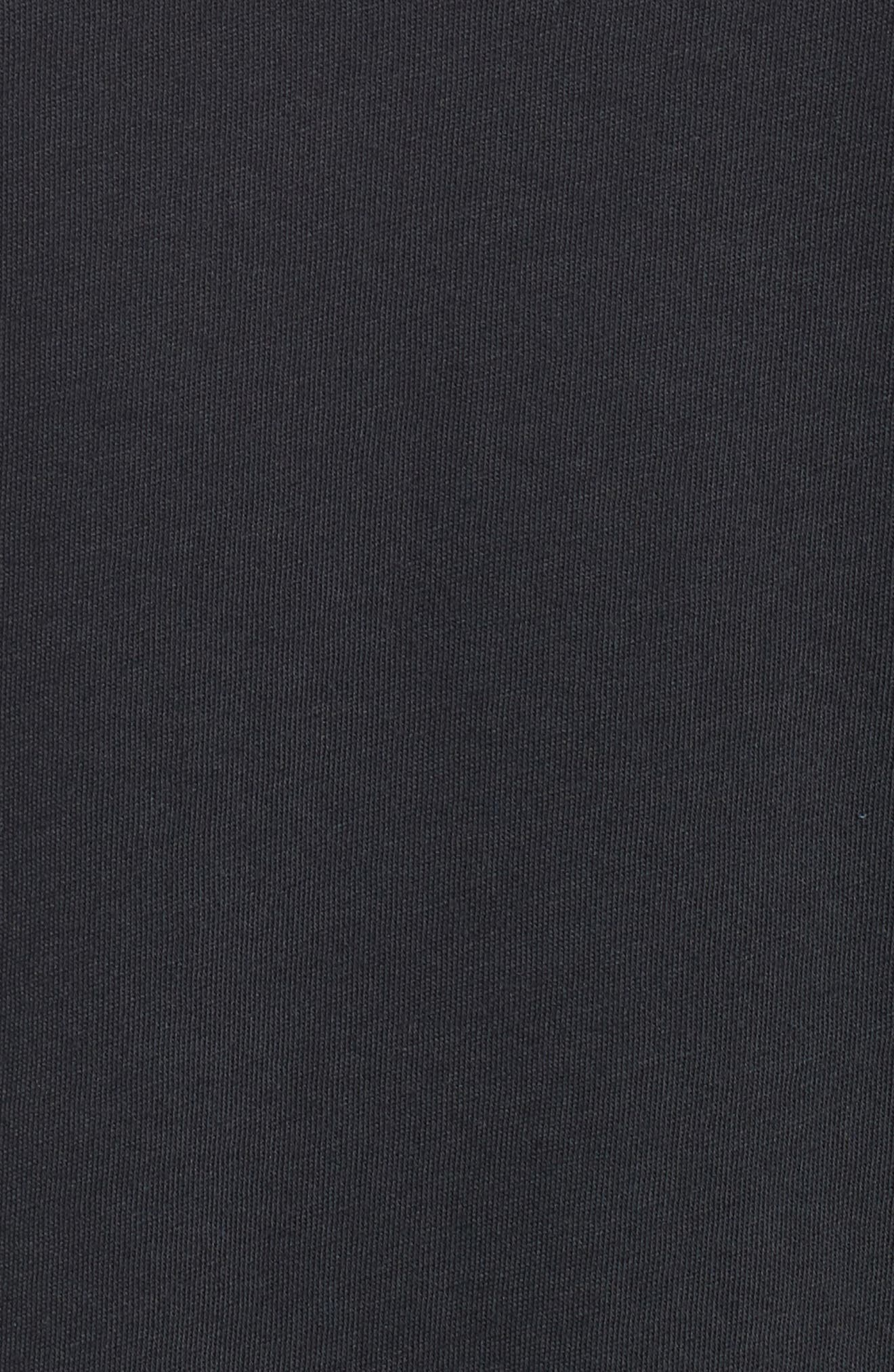 Sportstyle Loose Fit T-Shirt,                             Alternate thumbnail 5, color,                             BLACK
