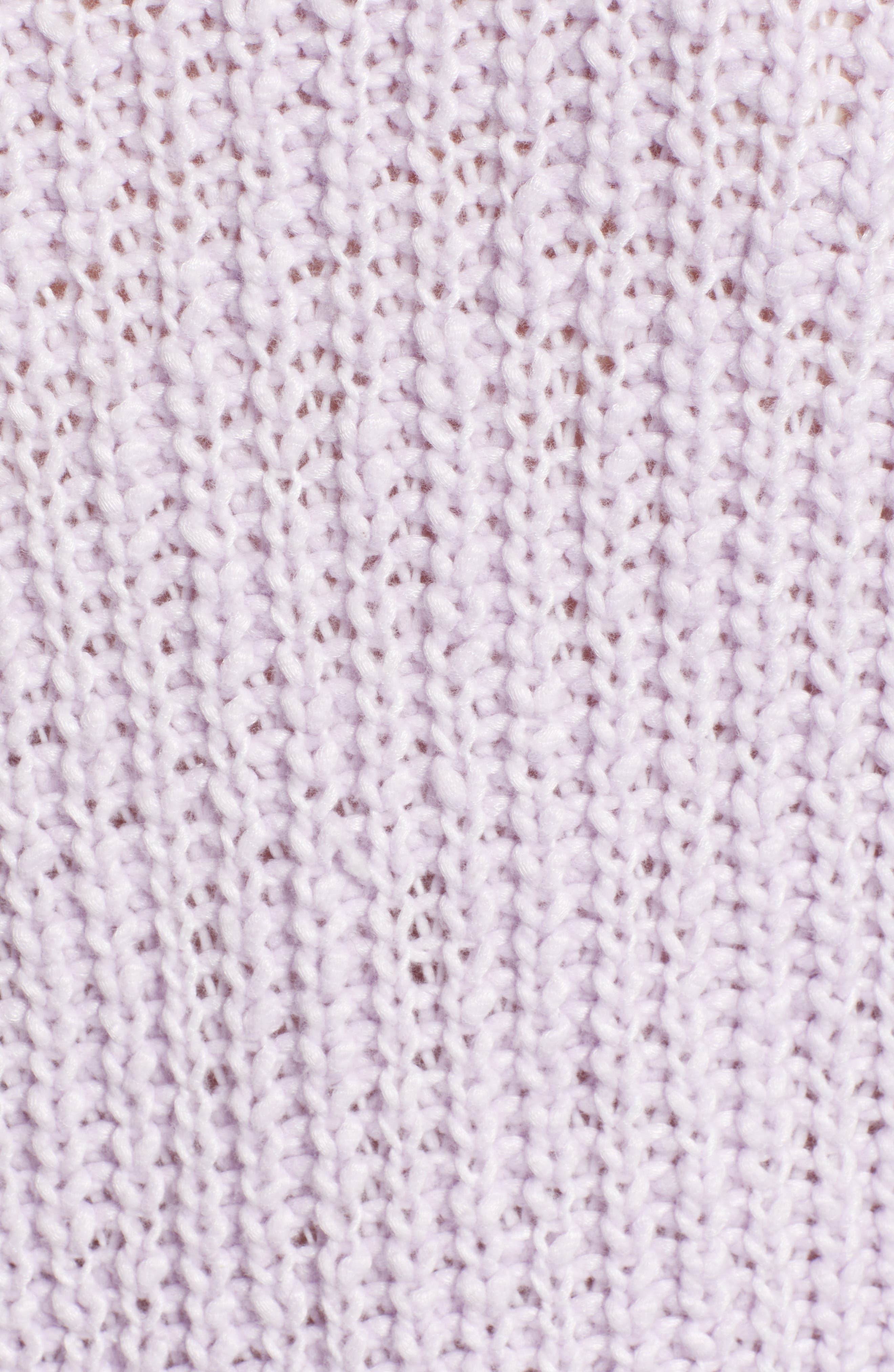 Cozystitch V-Neck Sweater,                             Alternate thumbnail 5, color,                             LILAC