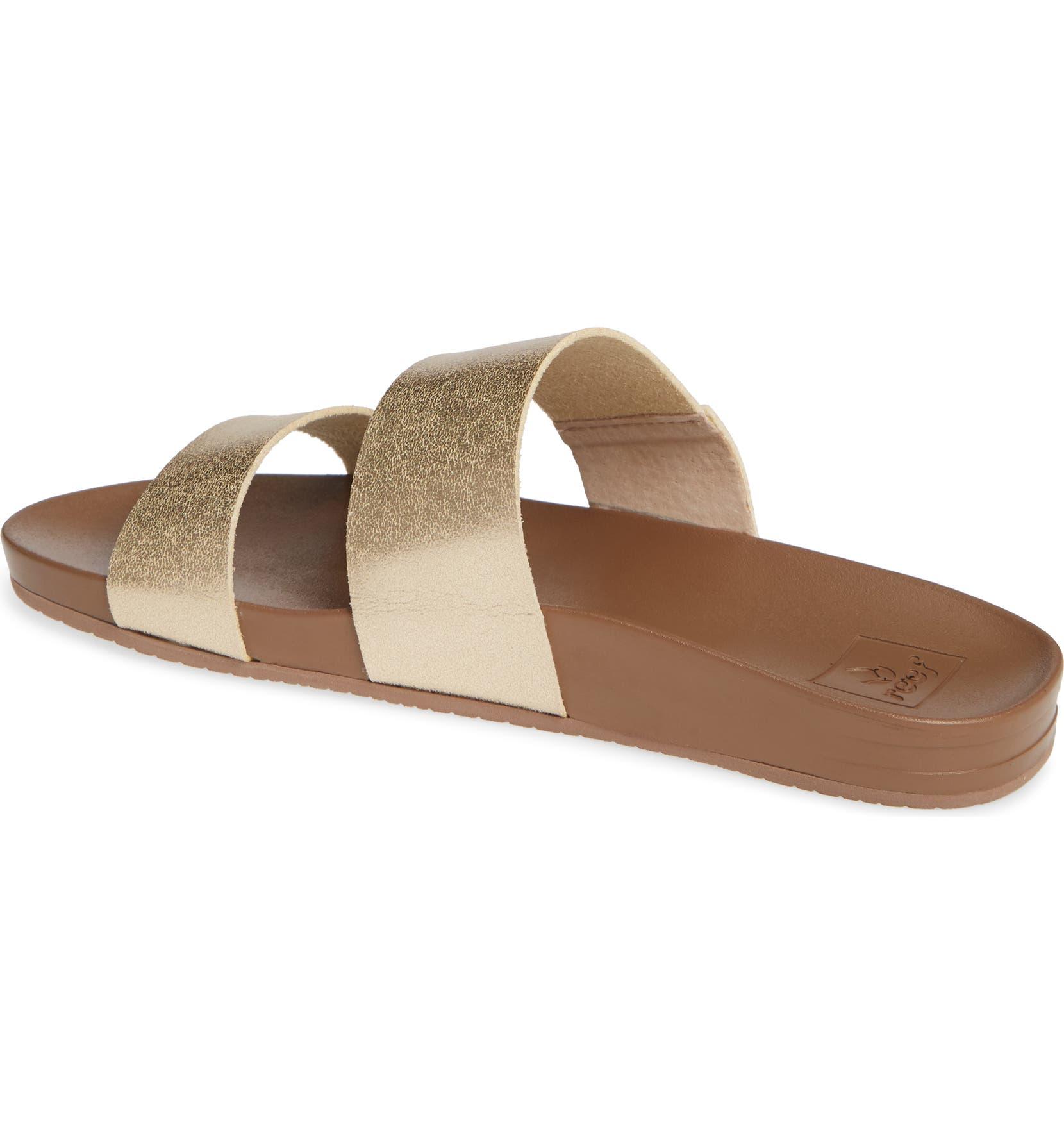 c30b1eace160 Reef Cushion Bounce Vista Slide Sandal (Women)