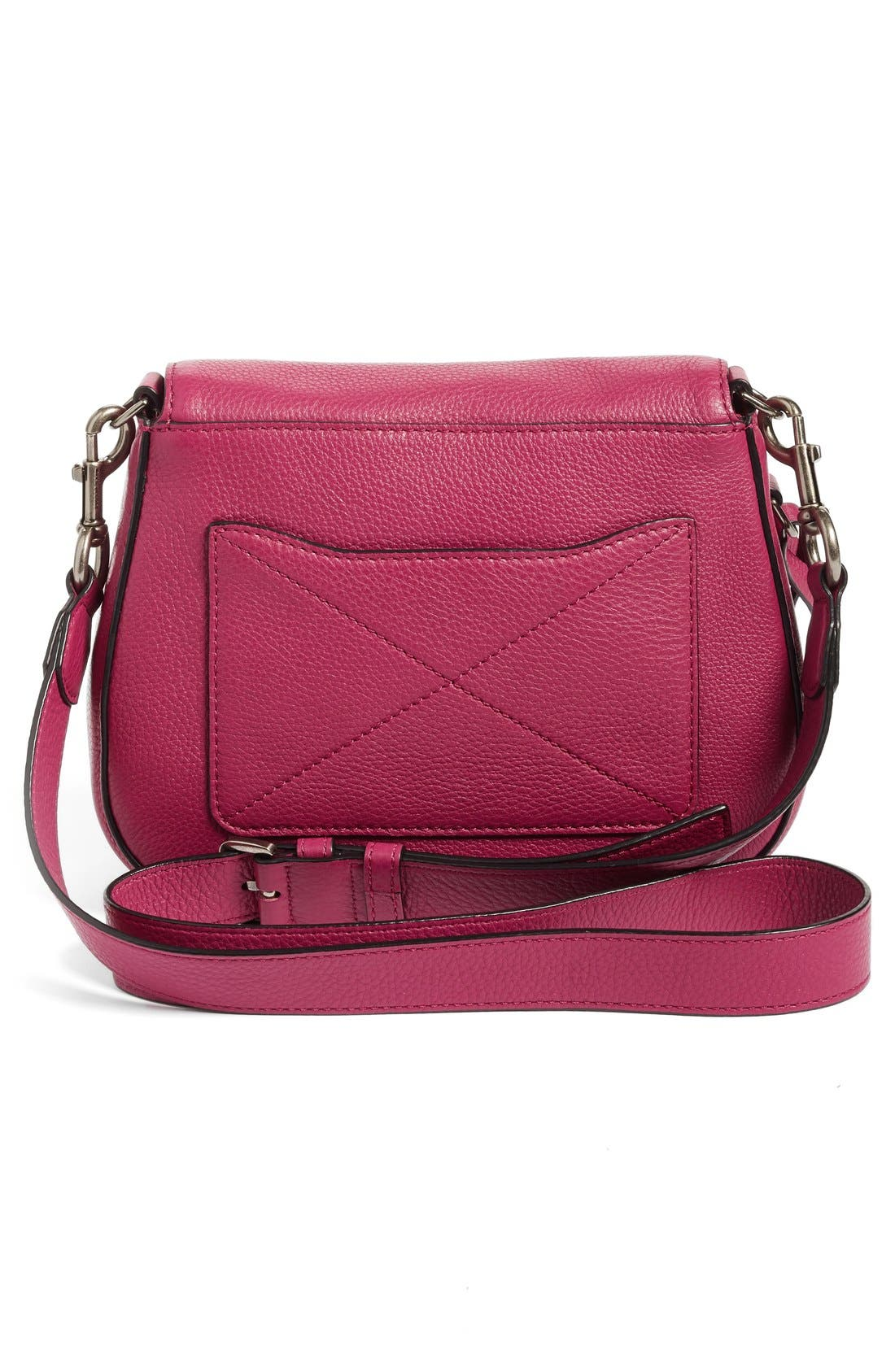 Small Recruit Nomad Pebbled Leather Crossbody Bag,                             Alternate thumbnail 94, color,