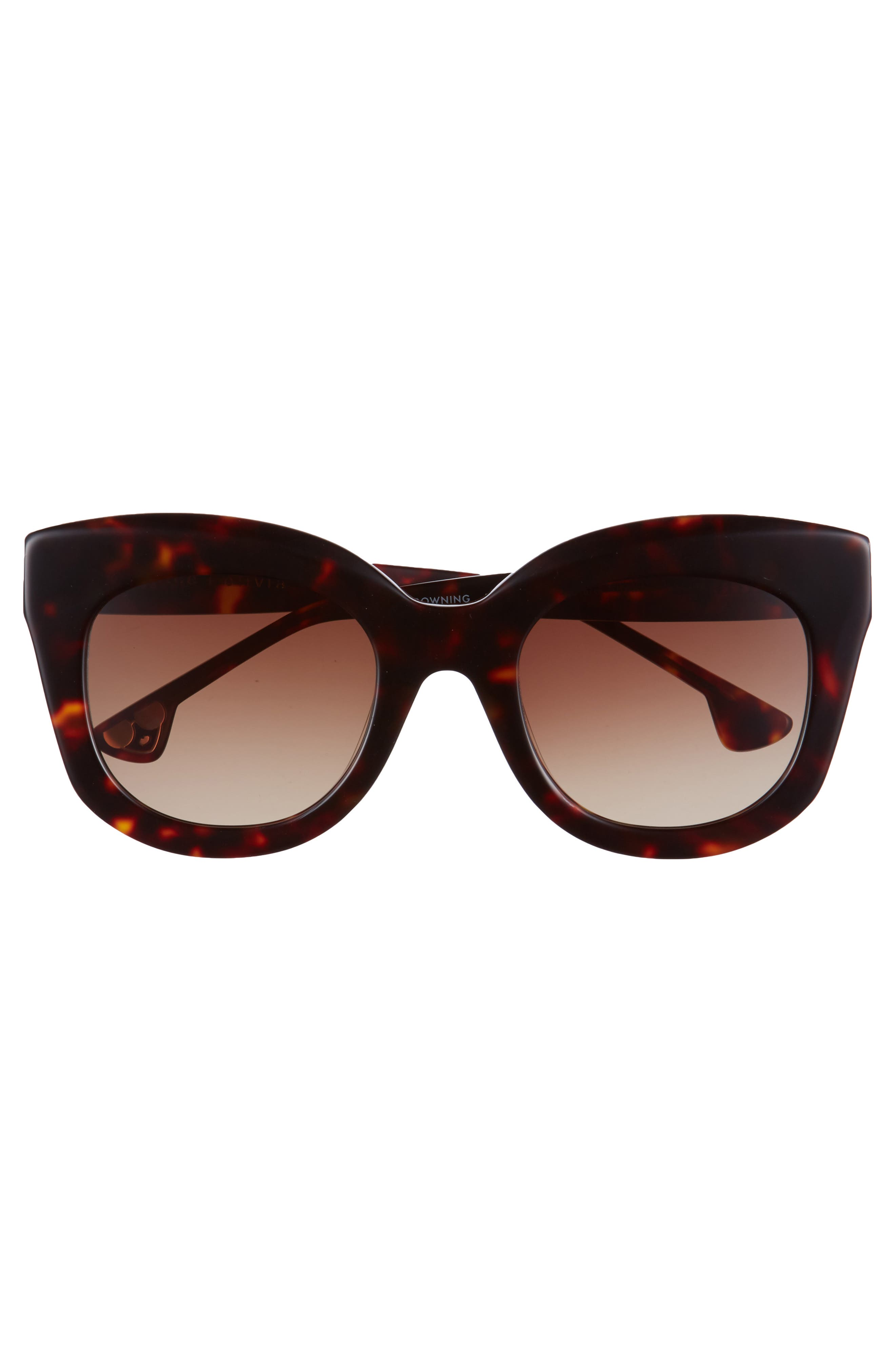 Downing 51mm Cat Eye Sunglasses,                             Alternate thumbnail 8, color,