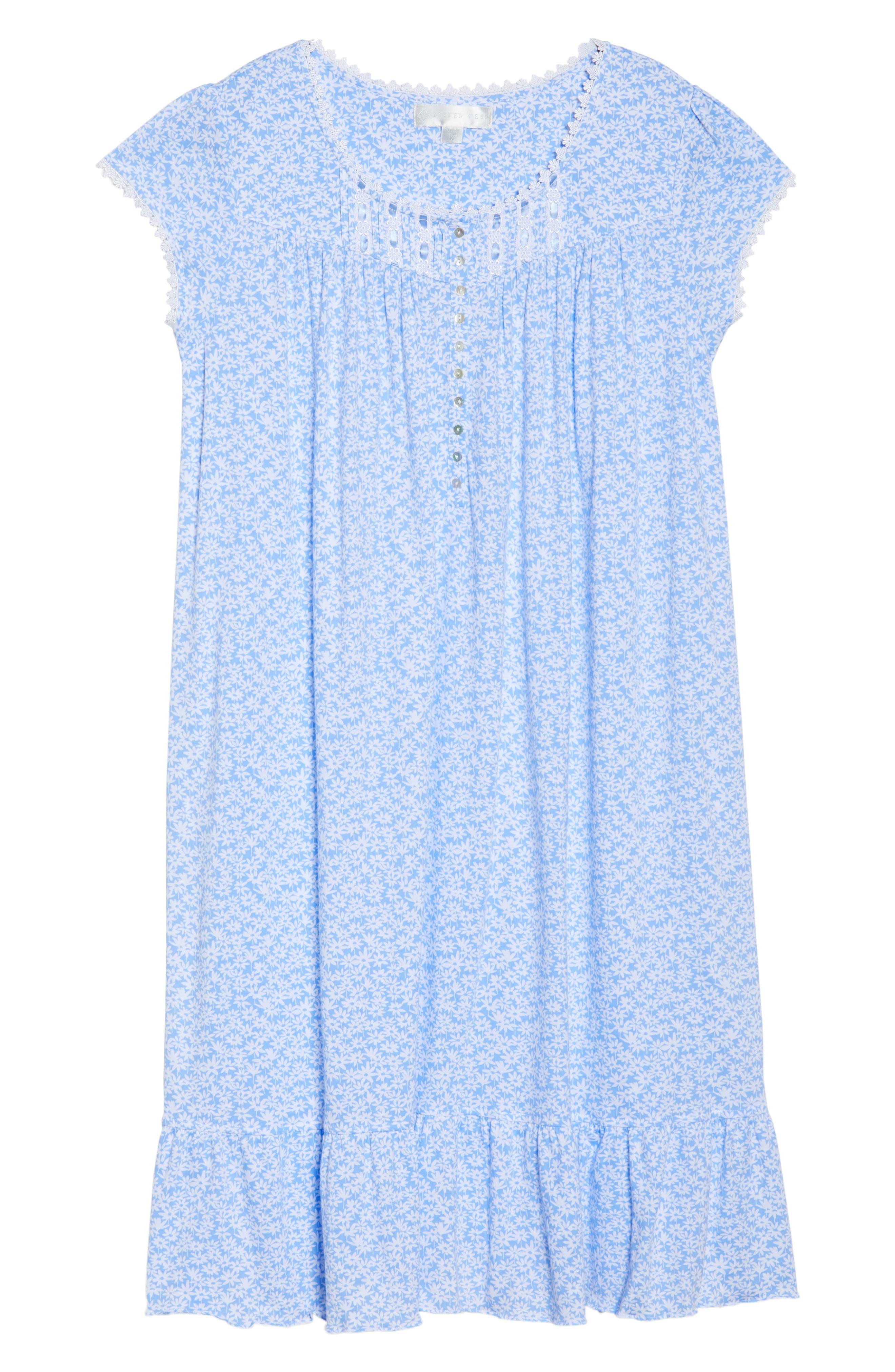 Cotton Jersey Waltz Nightgown,                             Alternate thumbnail 6, color,                             400