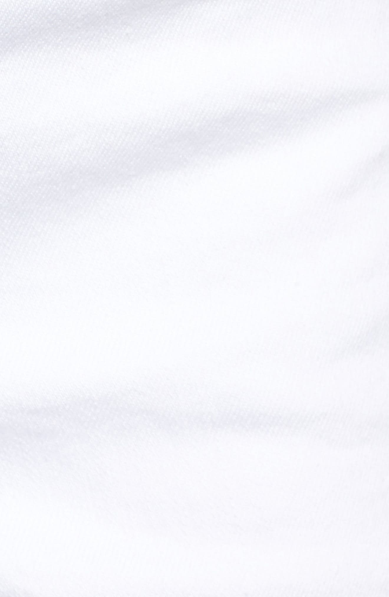Embroidered Side Slit Shorts,                             Alternate thumbnail 5, color,