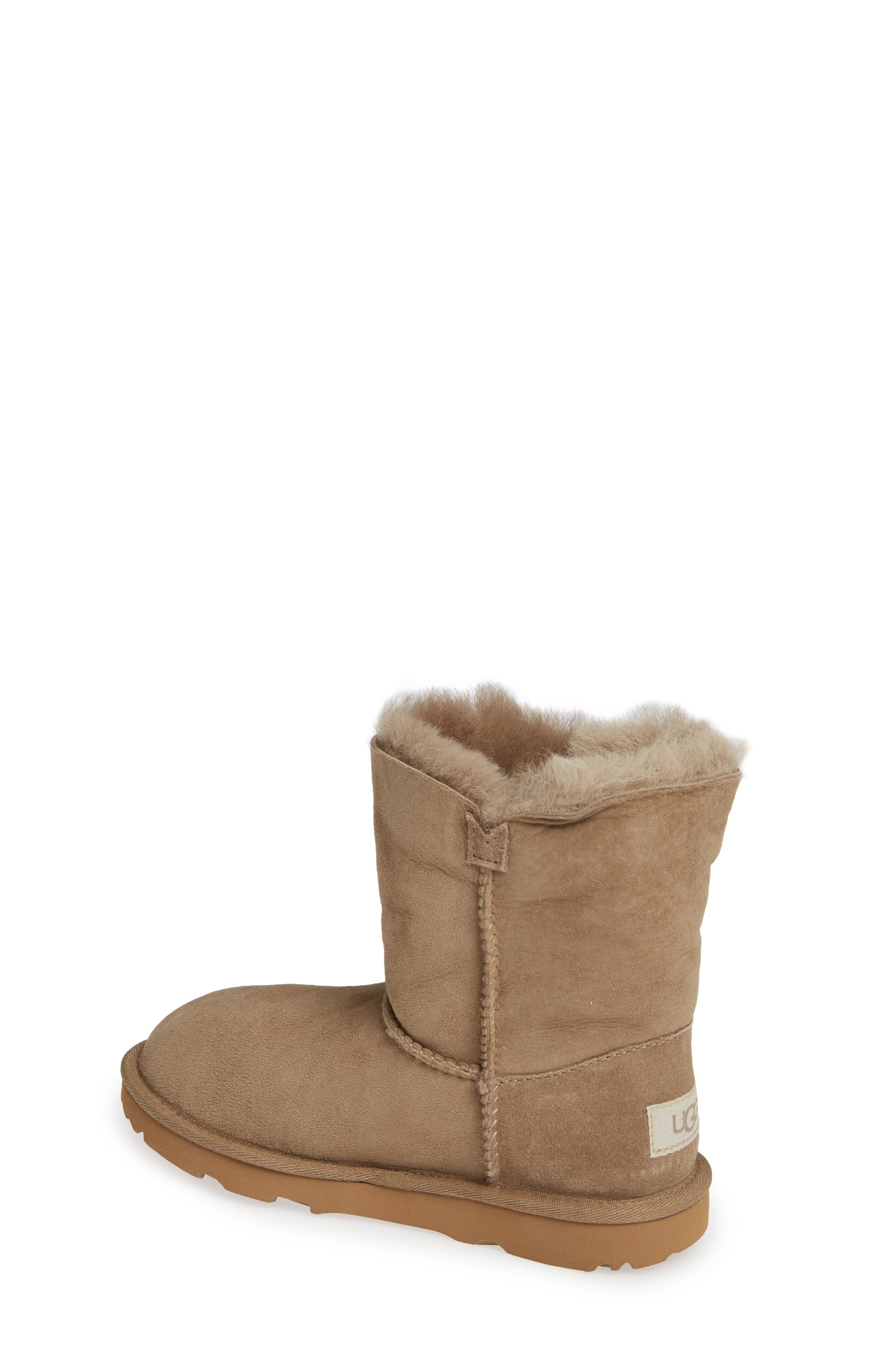Bailey Button II Water Resistant Genuine Shearling Boot,                             Alternate thumbnail 2, color,                             ANTELOPE