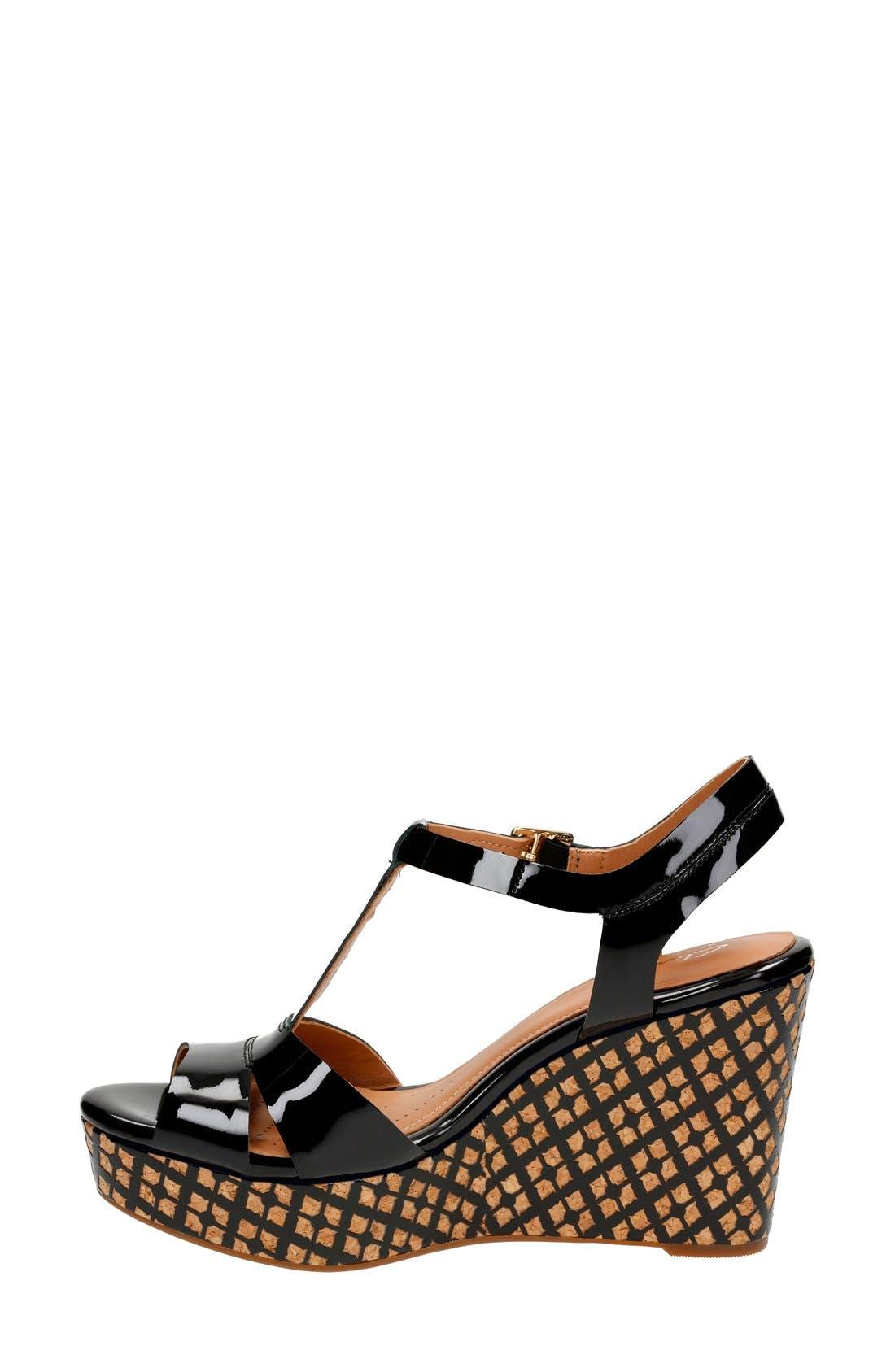 'Amelia Roma' Wedge Sandal,                             Alternate thumbnail 2, color,                             017