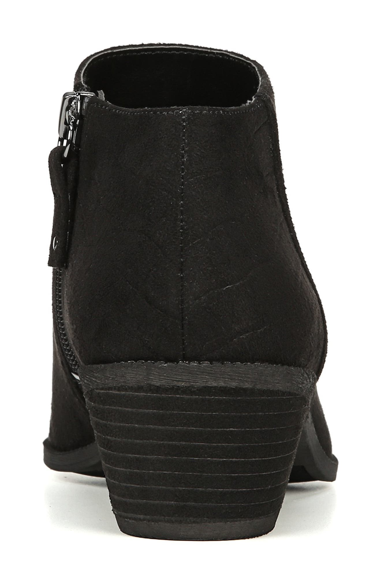 Brendel Bootie,                             Alternate thumbnail 6, color,                             BLACK FABRIC