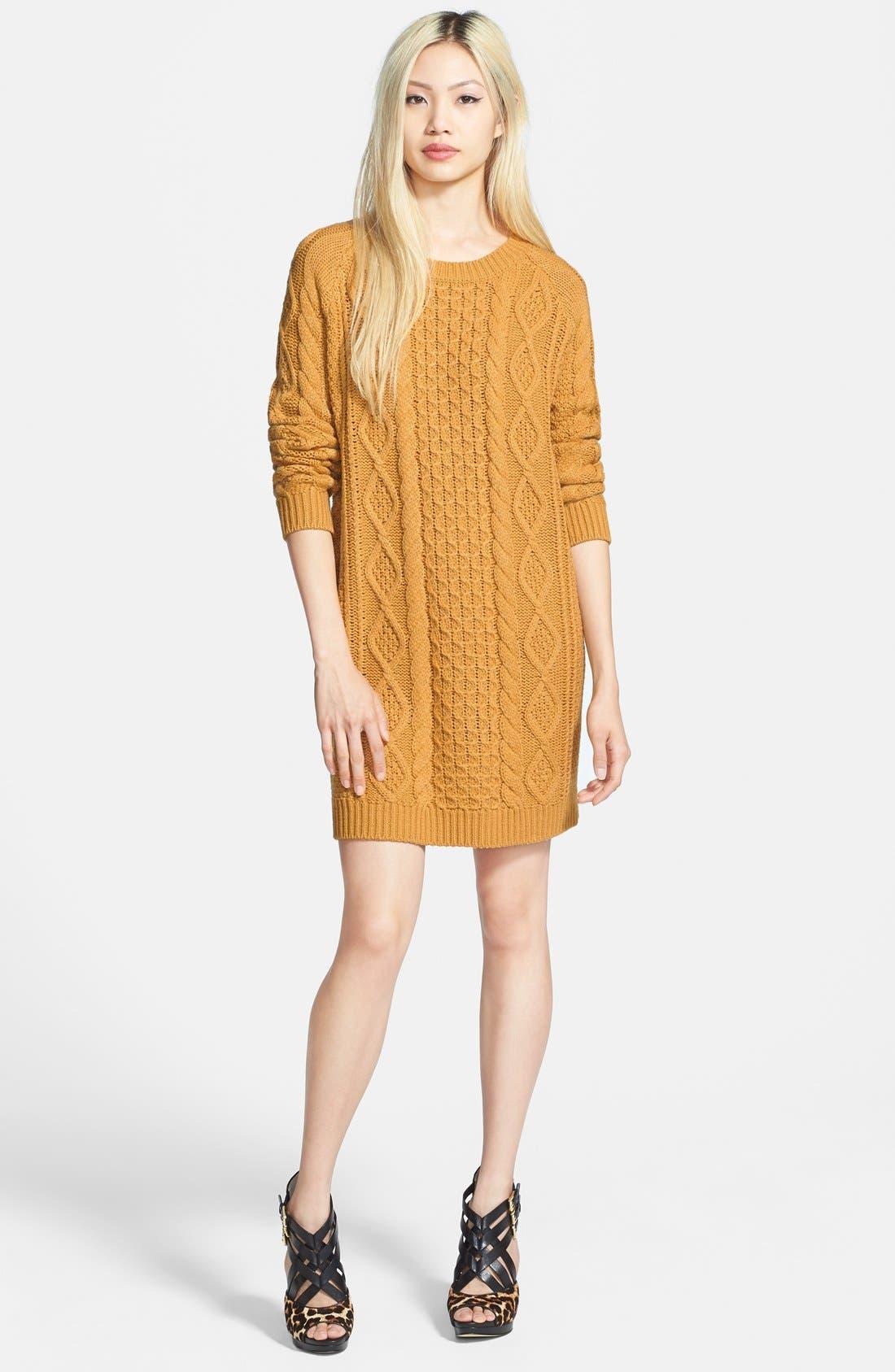 'Chalet Girl' Sweater Dress,                             Main thumbnail 1, color,                             700