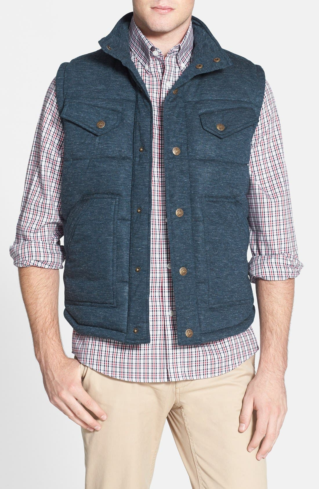 Quilted Vest, Main, color, 400