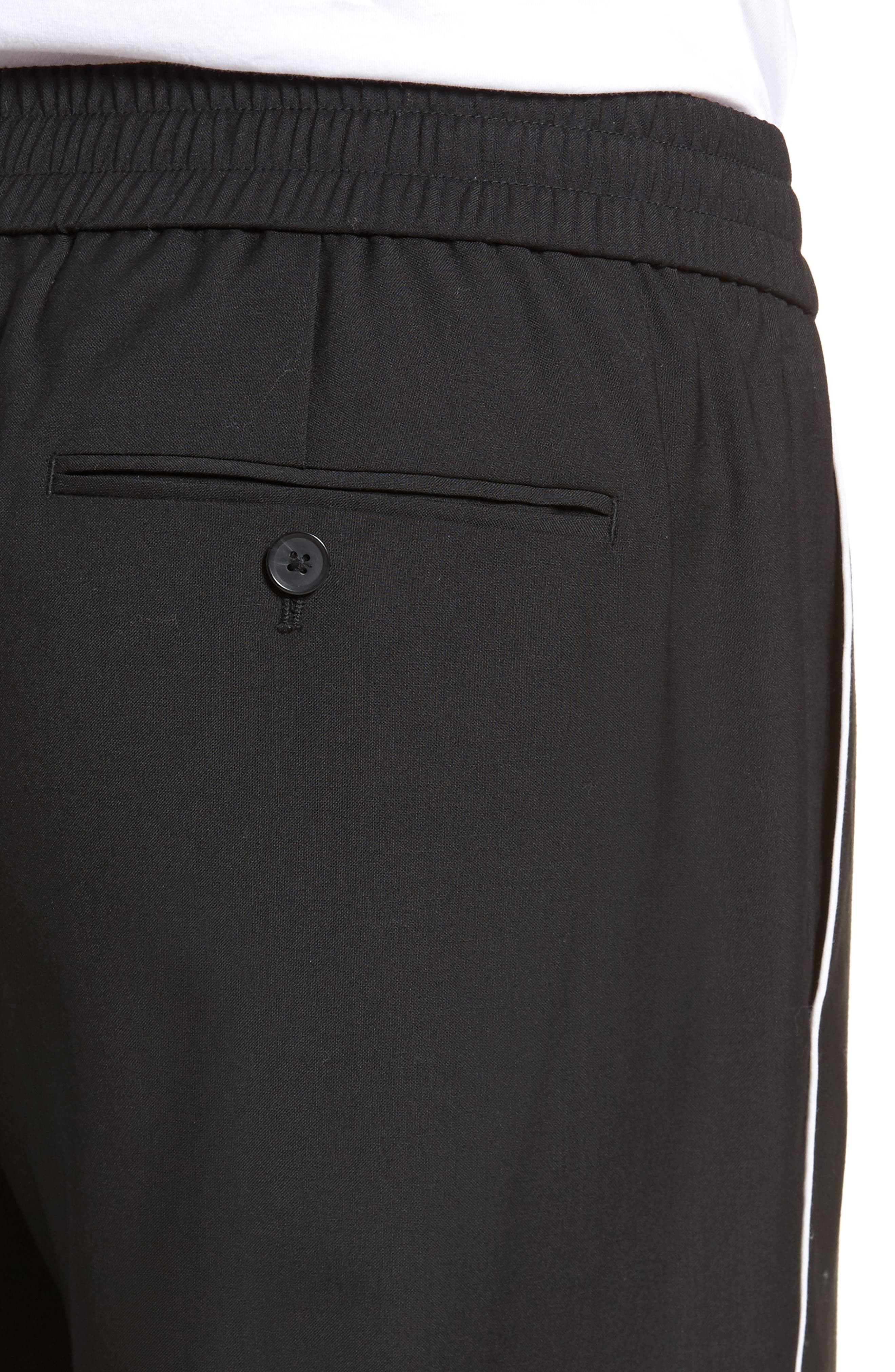 Regular Fit Track Pants,                             Alternate thumbnail 4, color,                             001