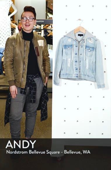 Hooded Denim Jacket, sales video thumbnail