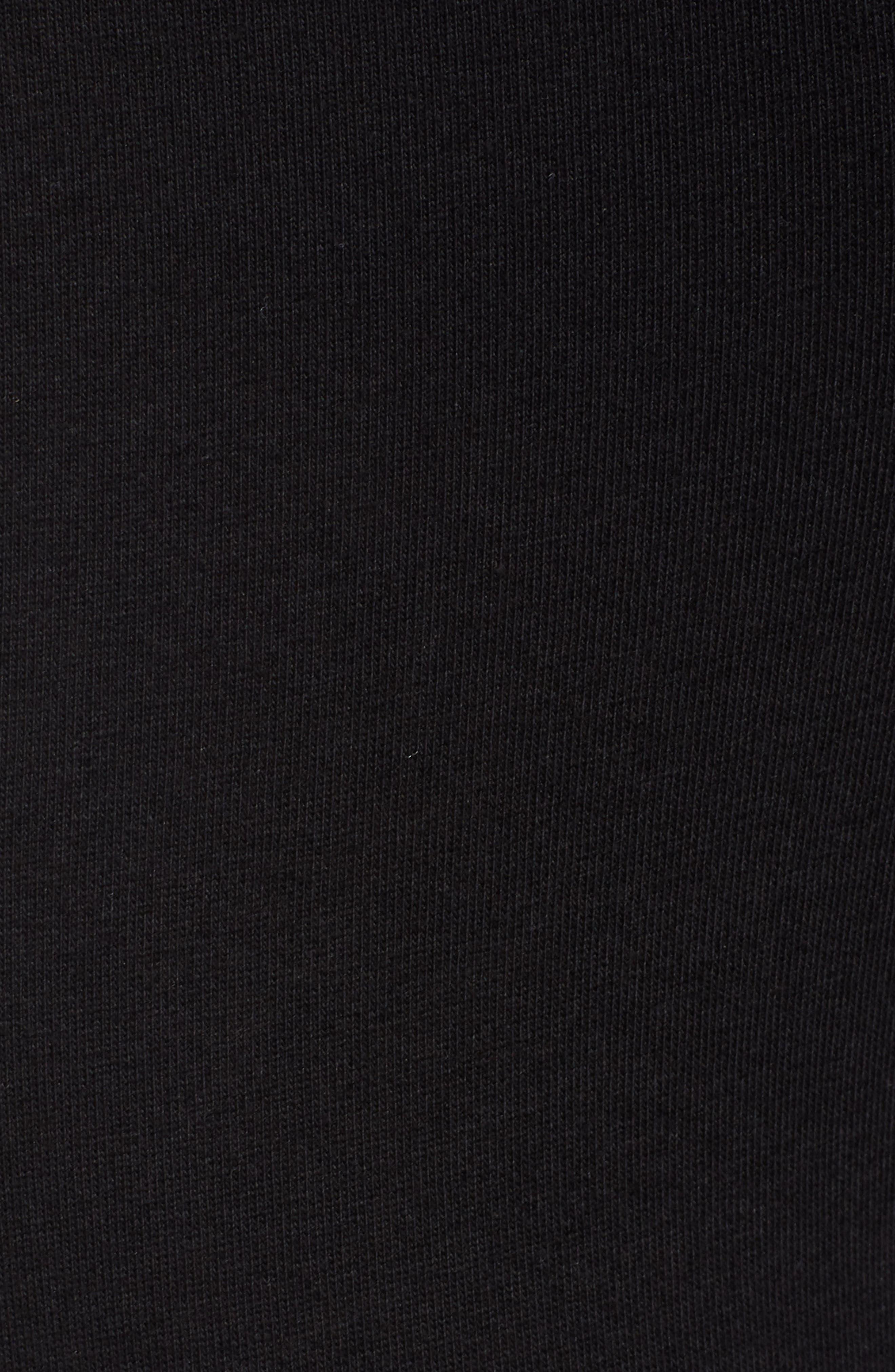 HUE,                             Moto Leggings,                             Alternate thumbnail 6, color,                             BLACK