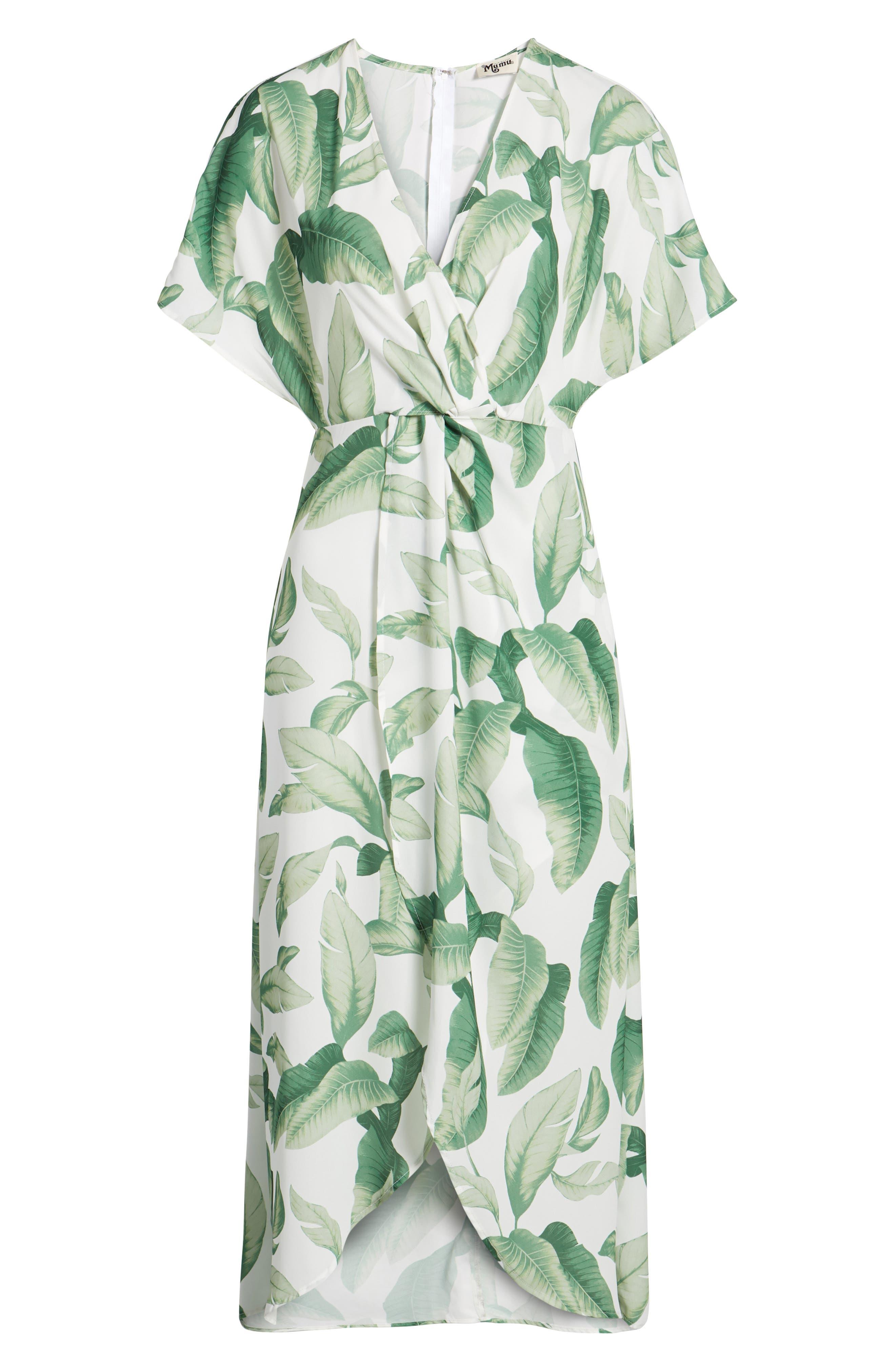 Print Maxi Dress,                             Alternate thumbnail 7, color,                             300