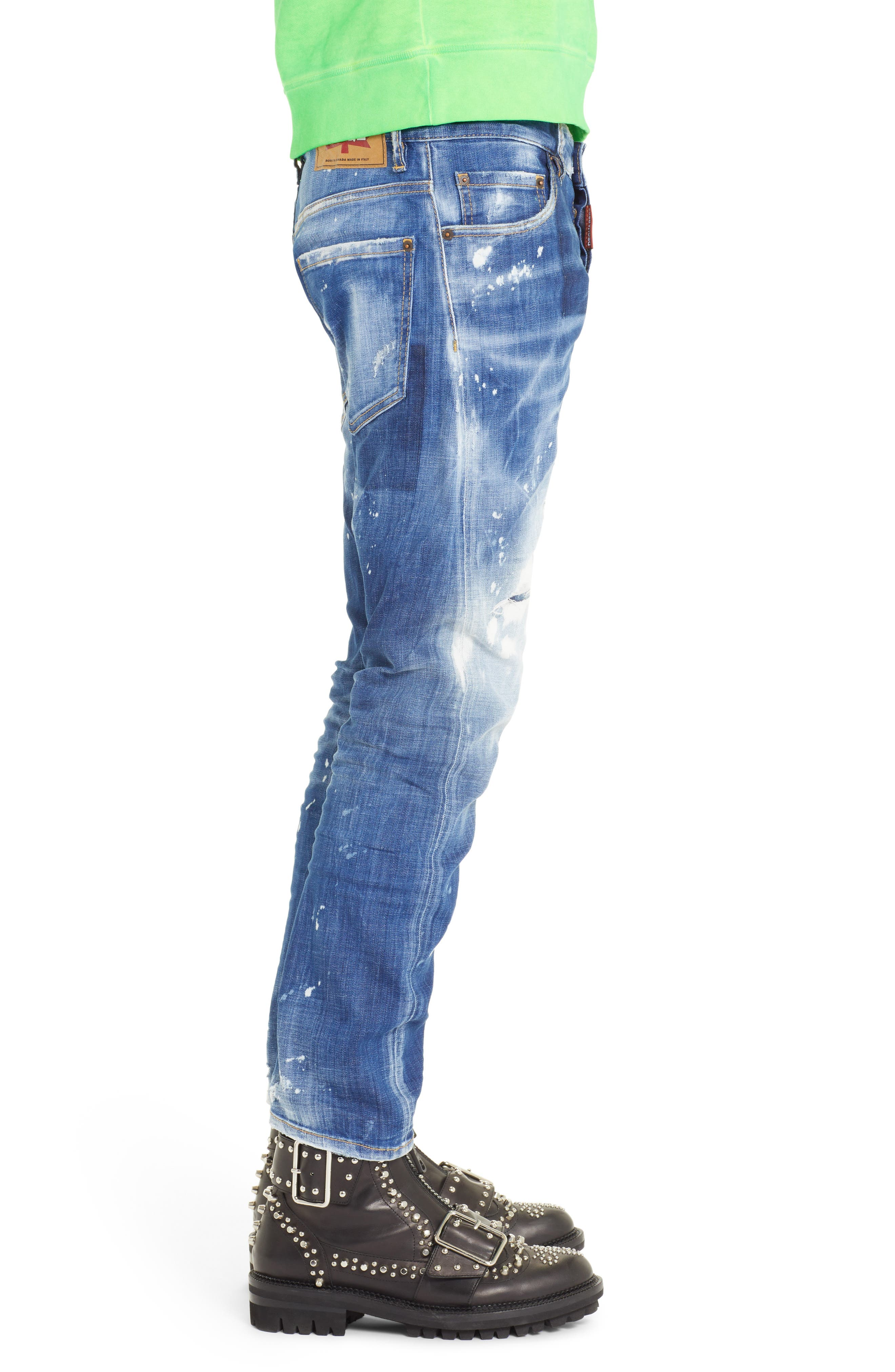 Cool Guy Jeans,                             Alternate thumbnail 3, color,                             BLUE