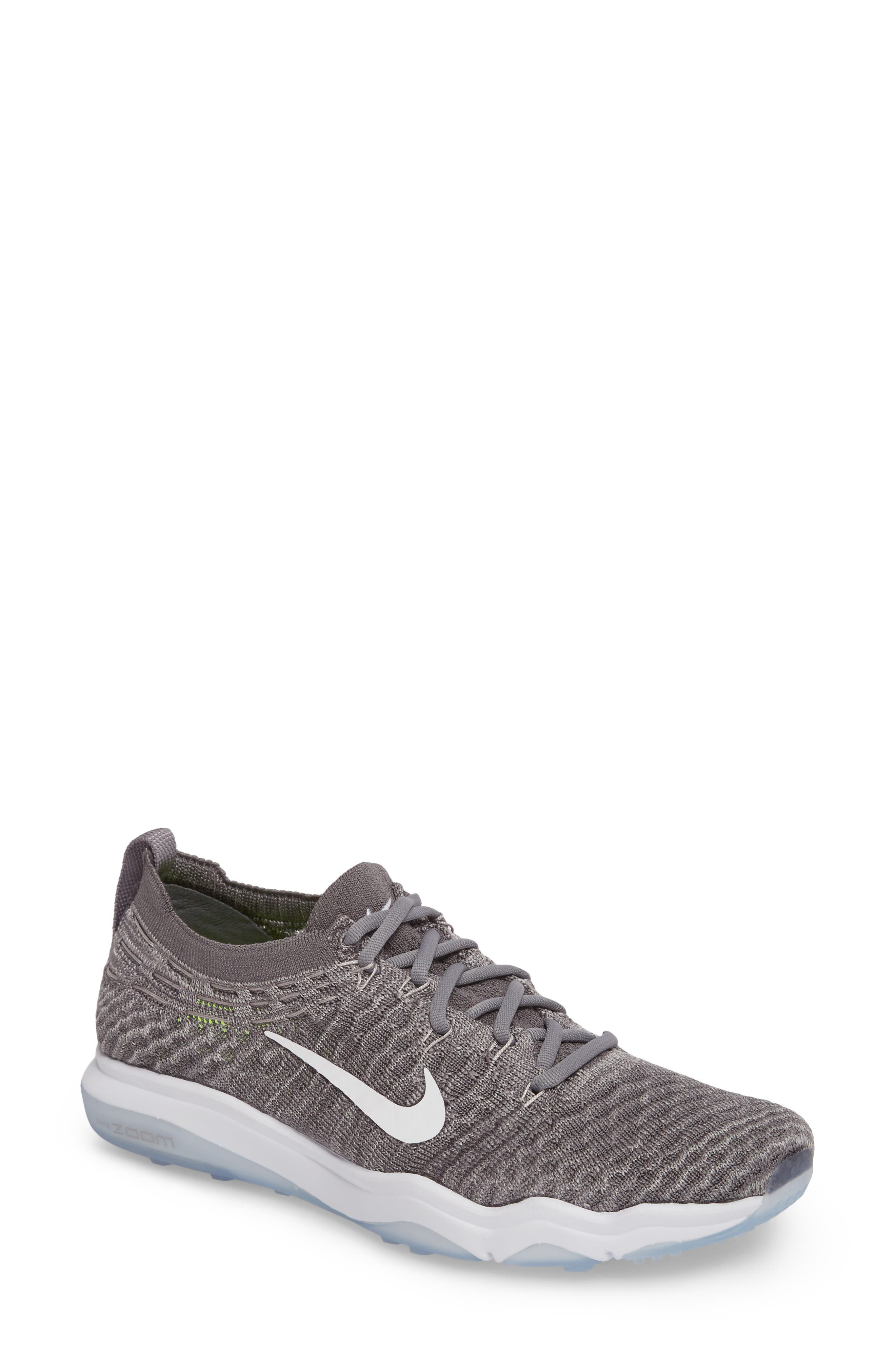 Air Zoom Fearless Flyknit Lux Training Shoe,                             Main thumbnail 2, color,