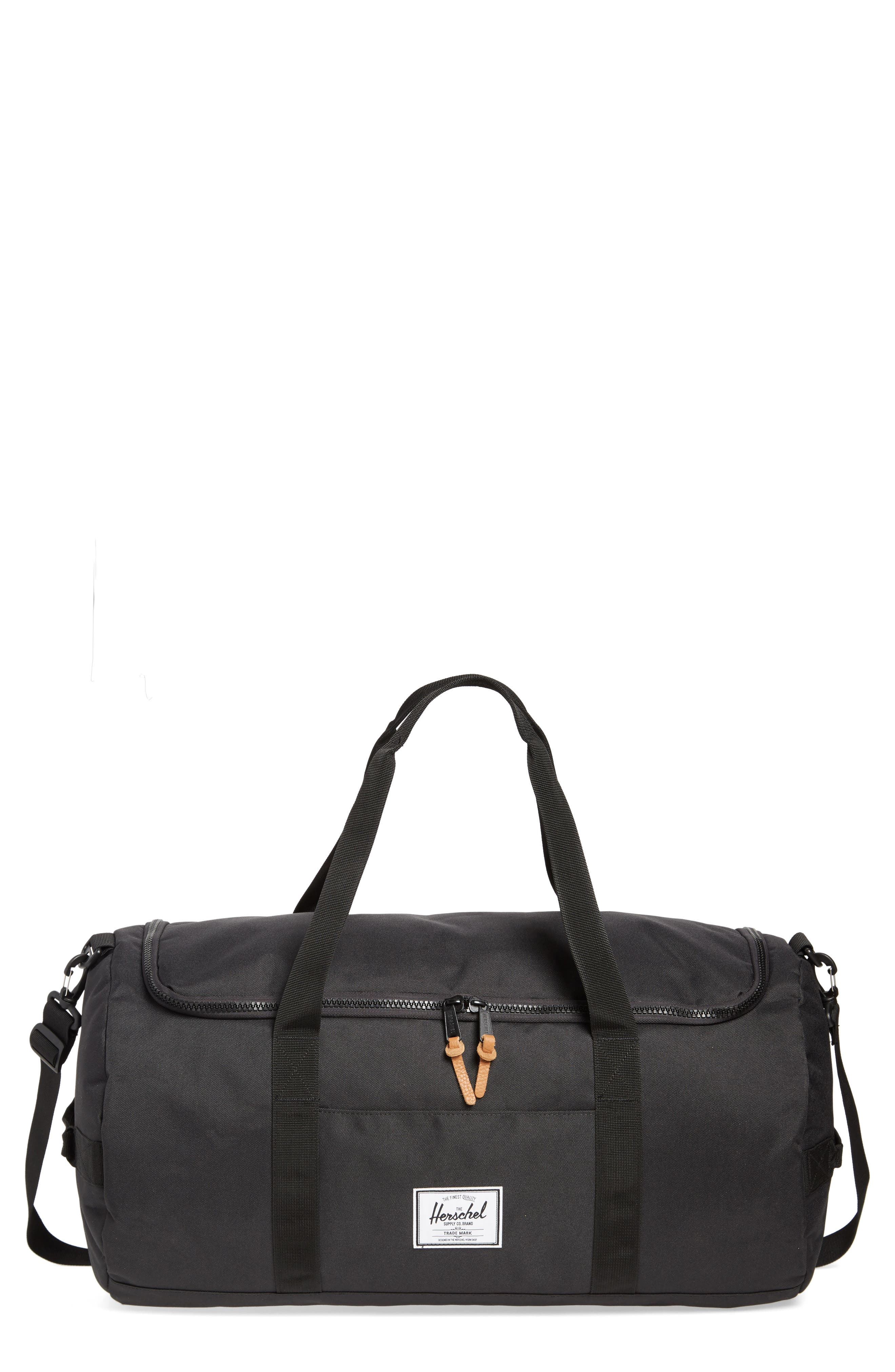 Sutton Duffel Bag,                         Main,                         color, BLACK