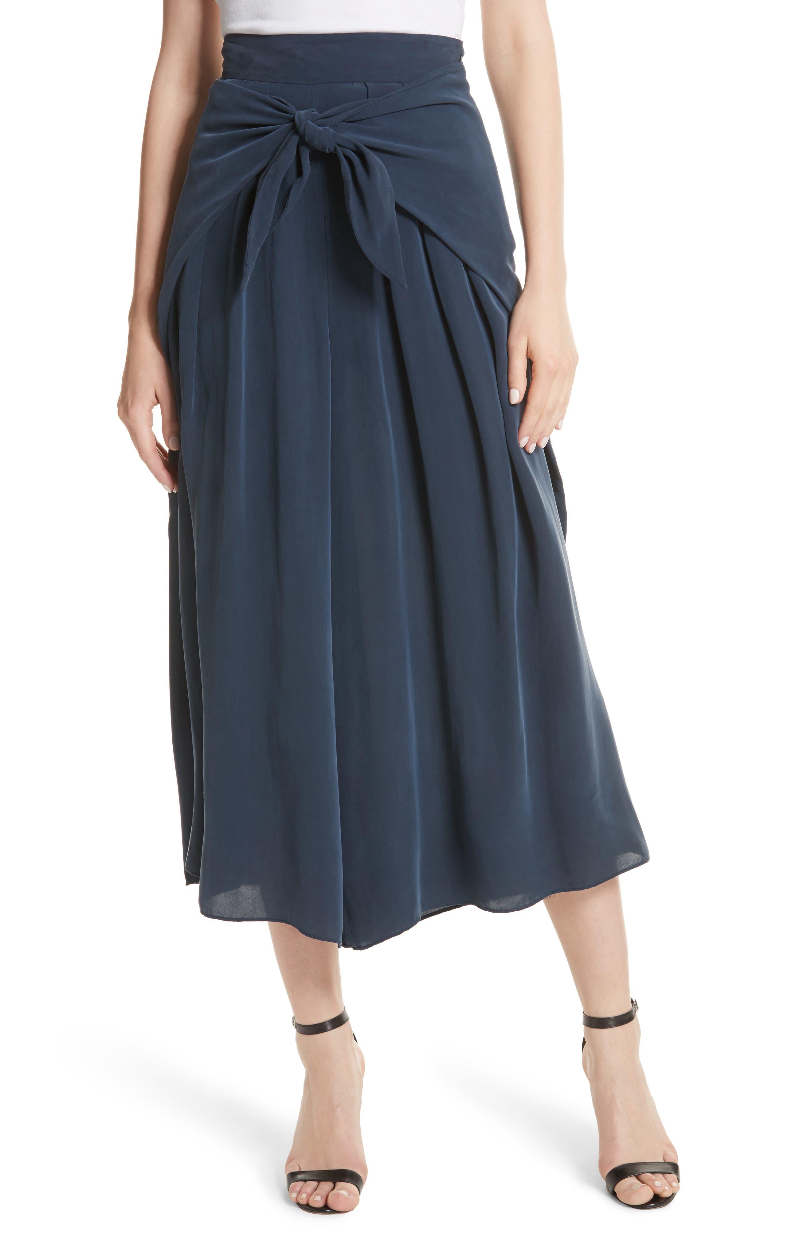 Sarong Tie Culottes,                         Main,                         color, 410