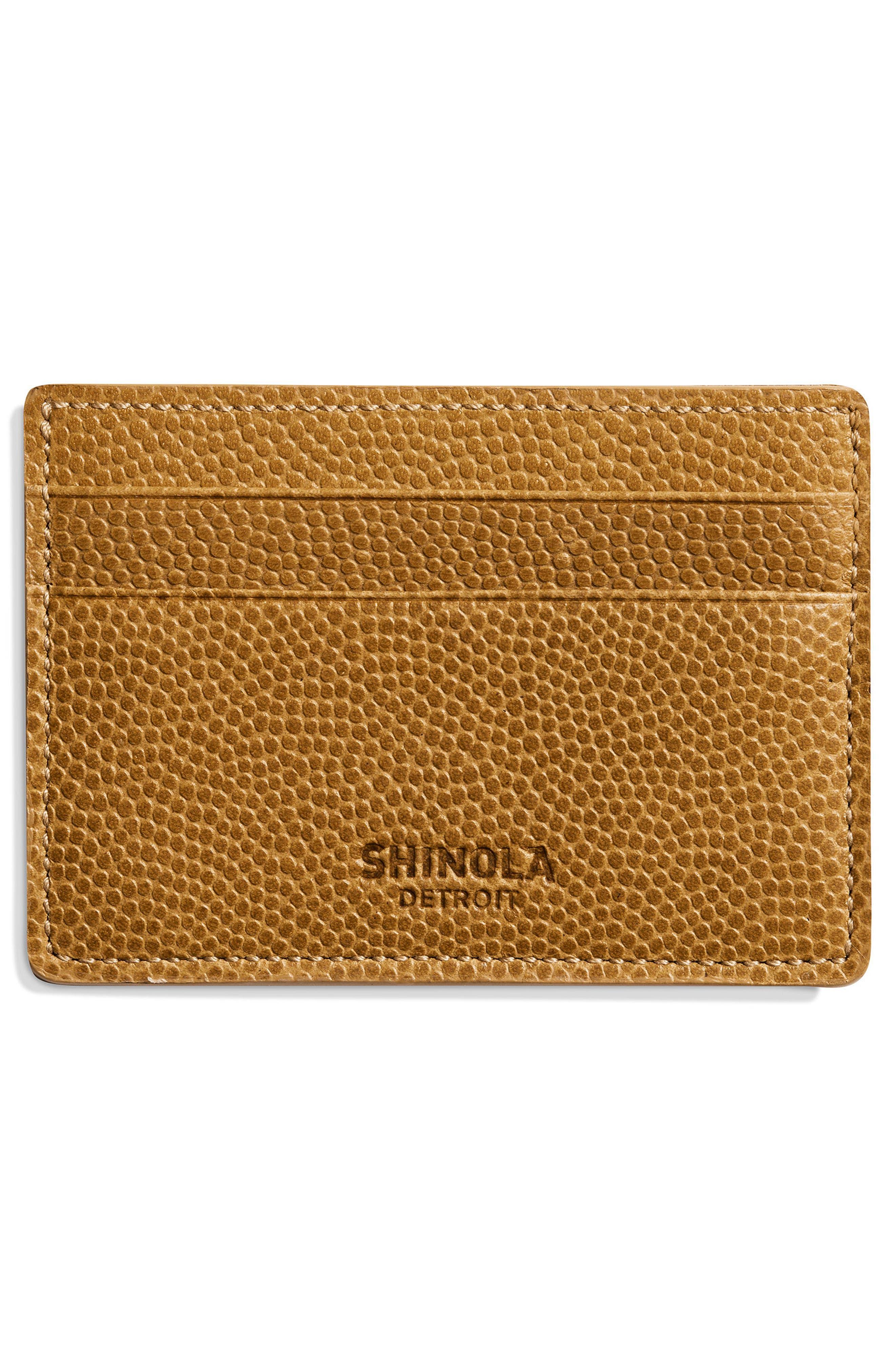 Latigo Leather Card Case,                             Alternate thumbnail 5, color,
