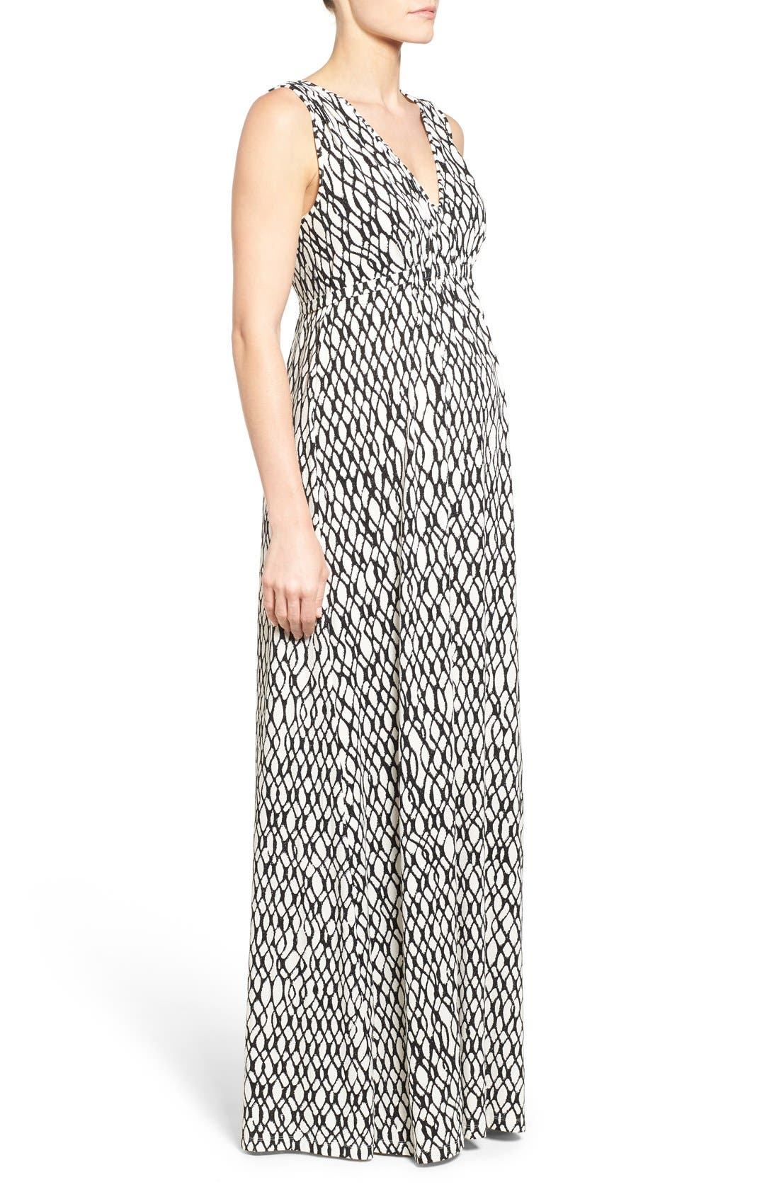 'Grecia' Print Jersey Maternity Maxi Dress,                             Alternate thumbnail 2, color,                             101