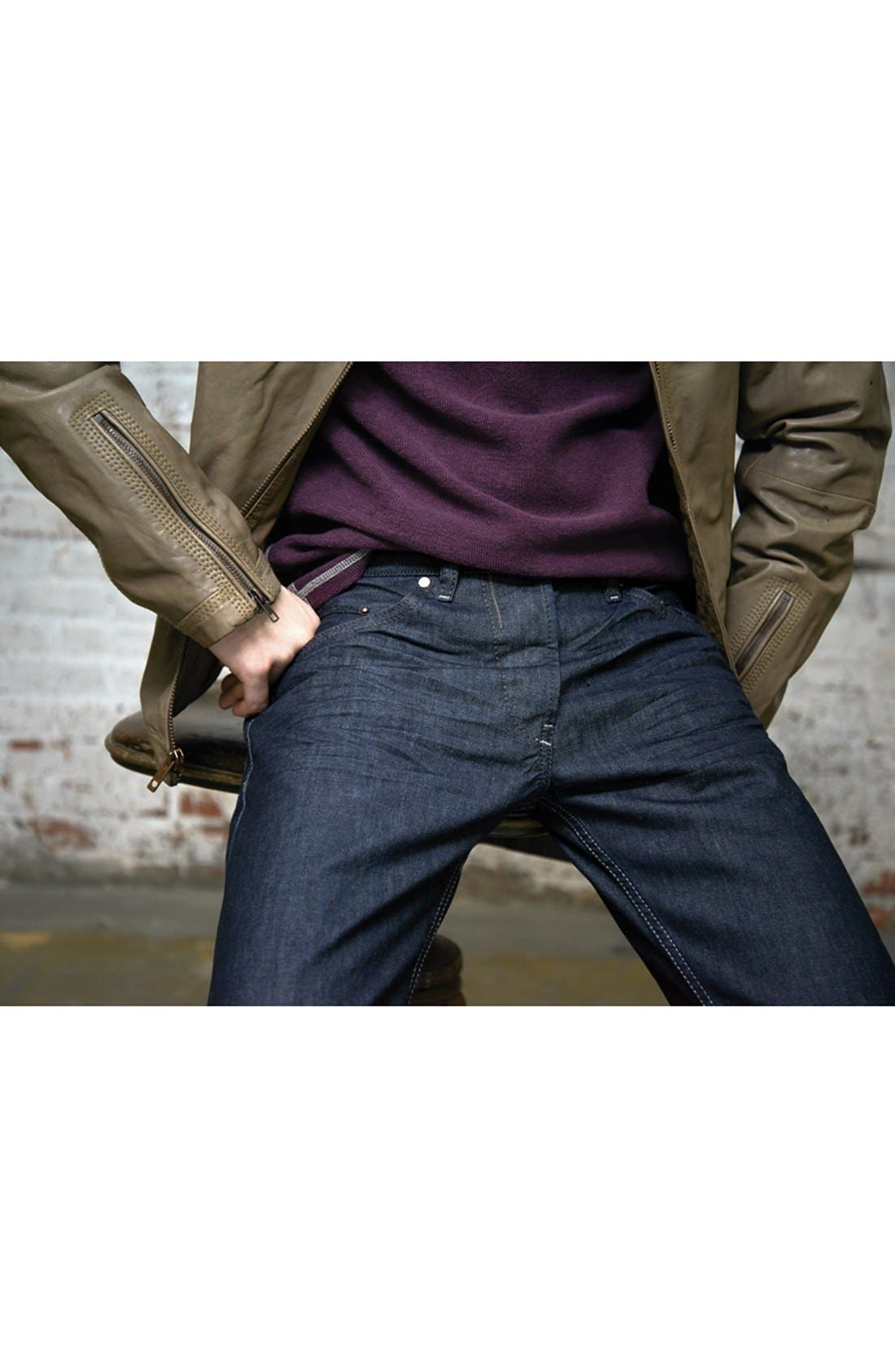 'Belther' Slim Fit Jeans,                             Alternate thumbnail 6, color,                             400