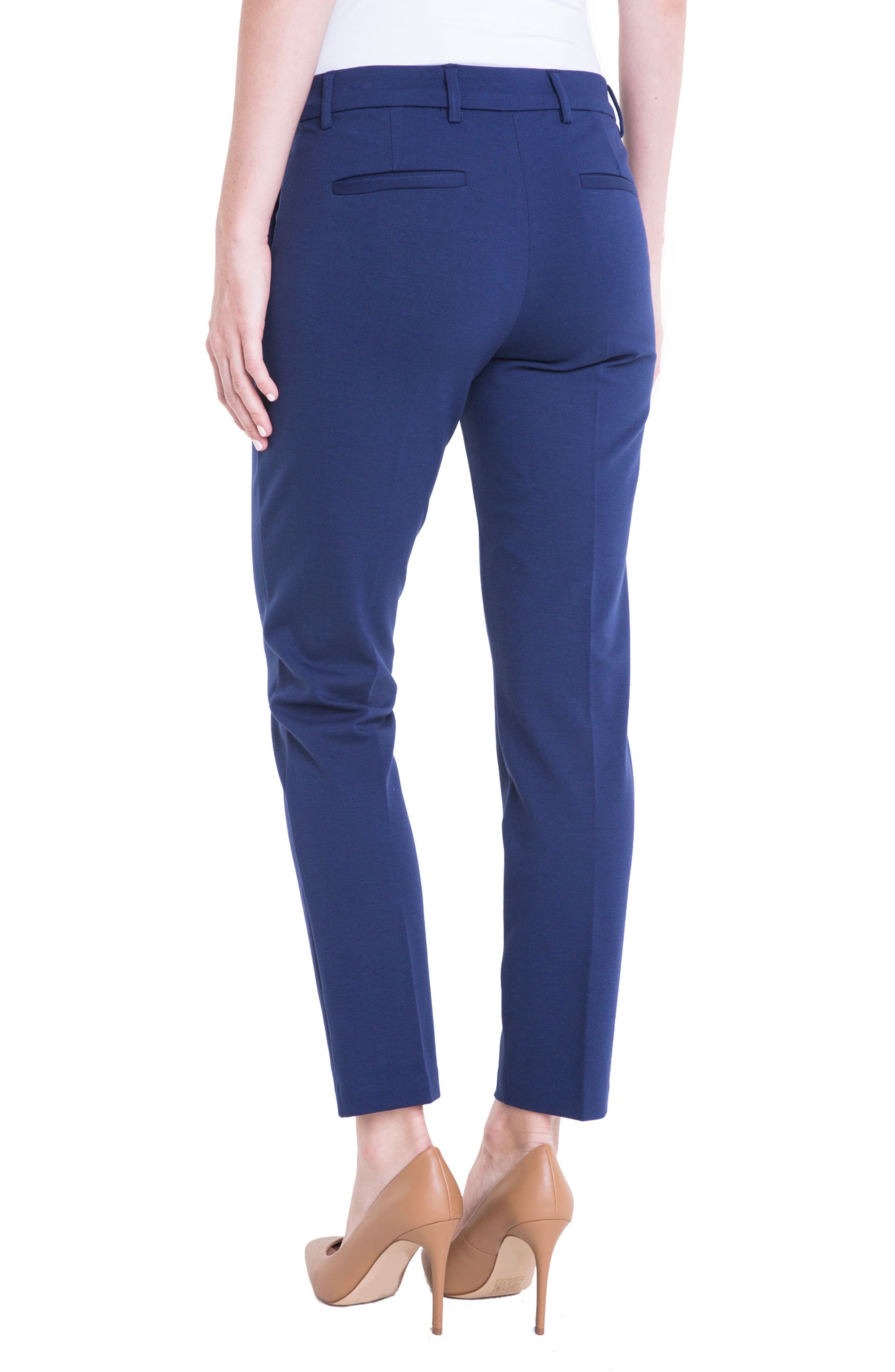 Kelsey Knit Trousers,                             Alternate thumbnail 2, color,                             MEDIEVAL BLUE