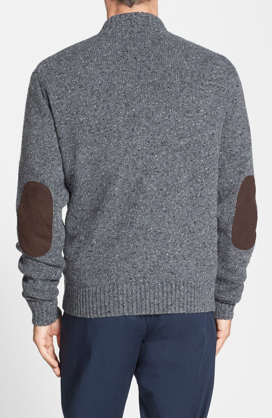 Donegal Italian Wool Blend Pullover,                             Alternate thumbnail 4, color,                             022