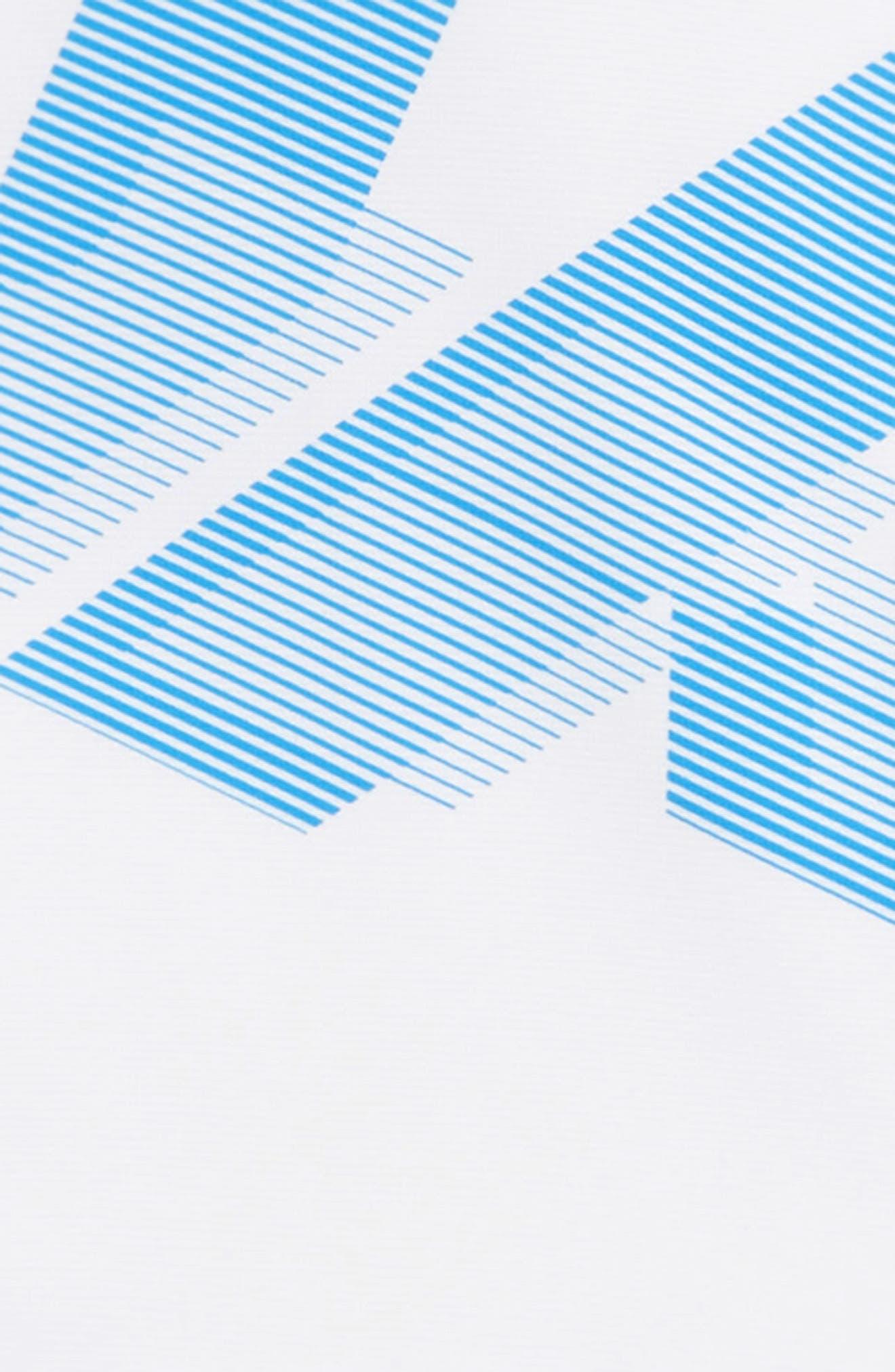 Armour Fleece<sup>®</sup> Logo Graphic Hoodie,                             Alternate thumbnail 2, color,                             WHITE/ BLUE CIRCUIT