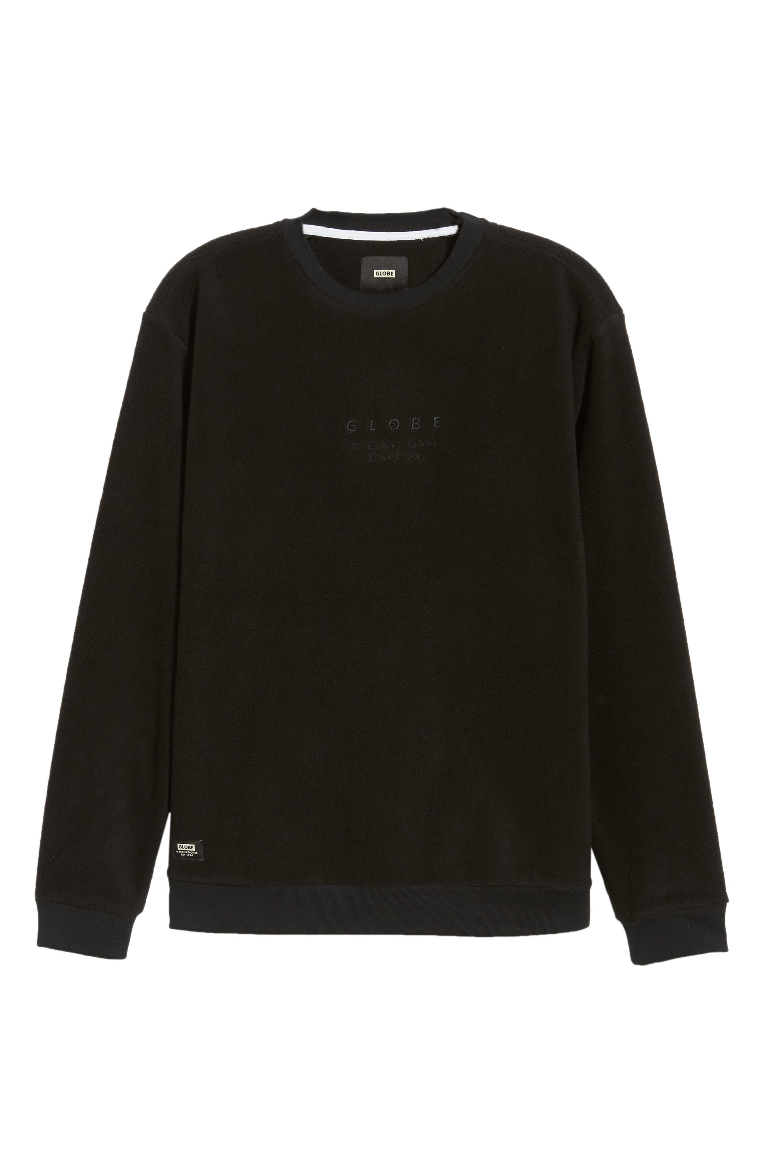 State Sweatshirt,                             Alternate thumbnail 6, color,                             BLACK