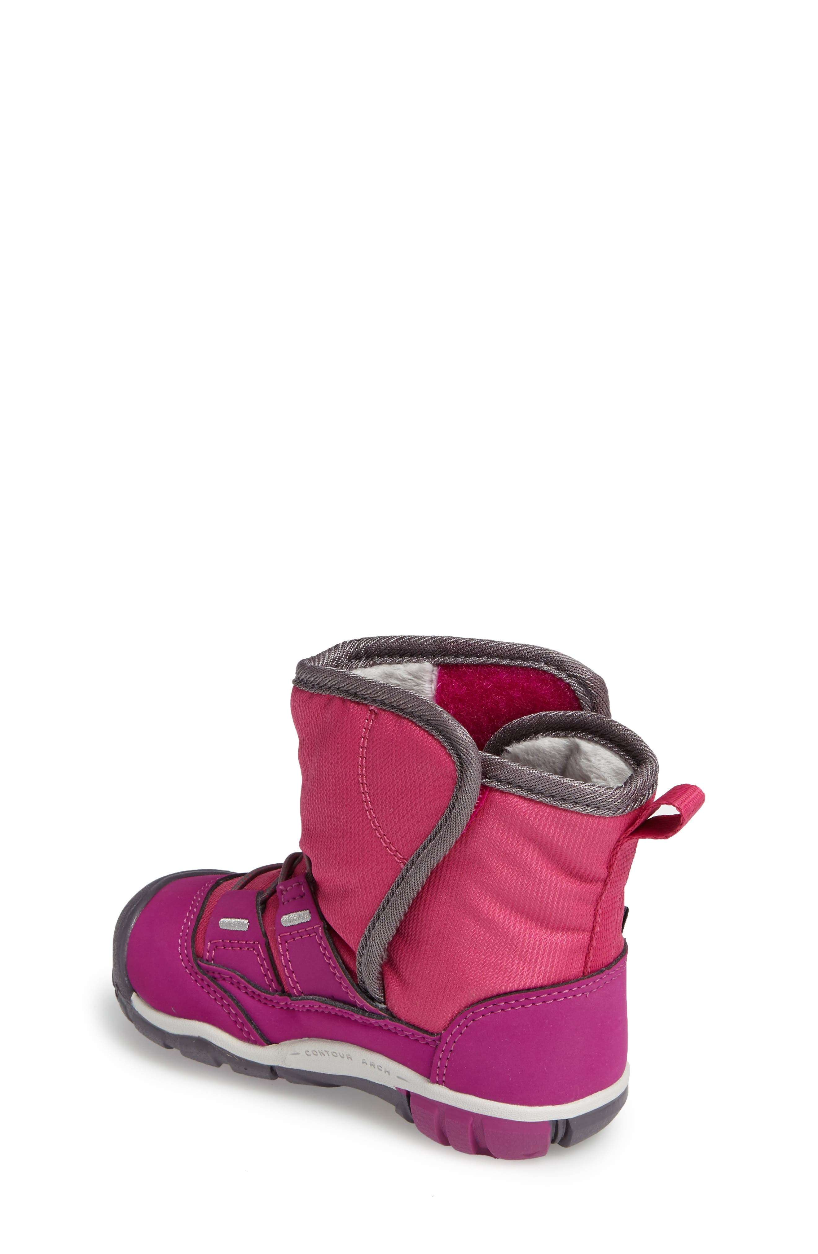 Peek-A-Boot Fleece Lined Boot,                             Alternate thumbnail 9, color,