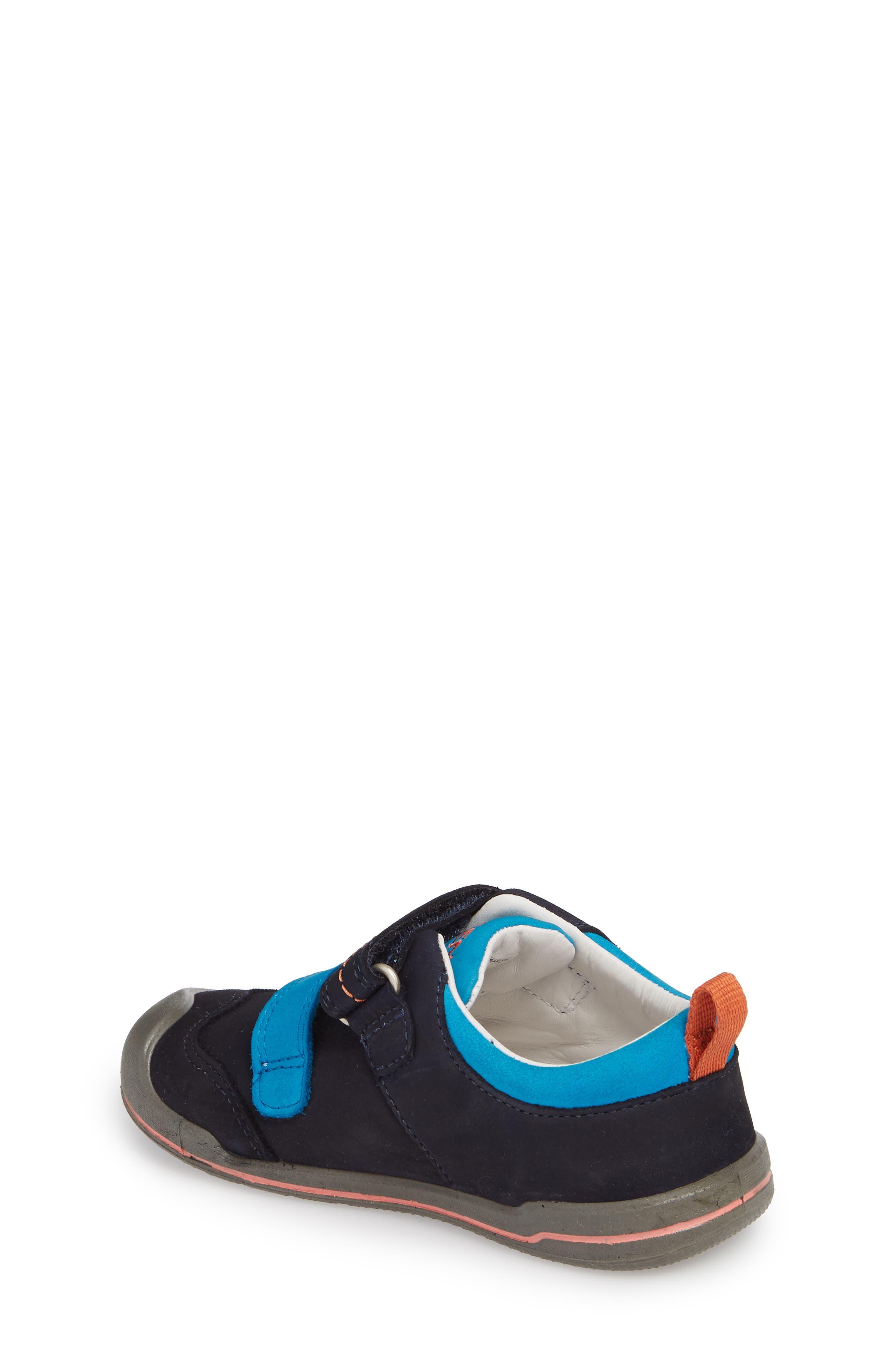 Sprout Double Strap Sneaker,                             Alternate thumbnail 2, color,                             DRESS BLUES/ KOI