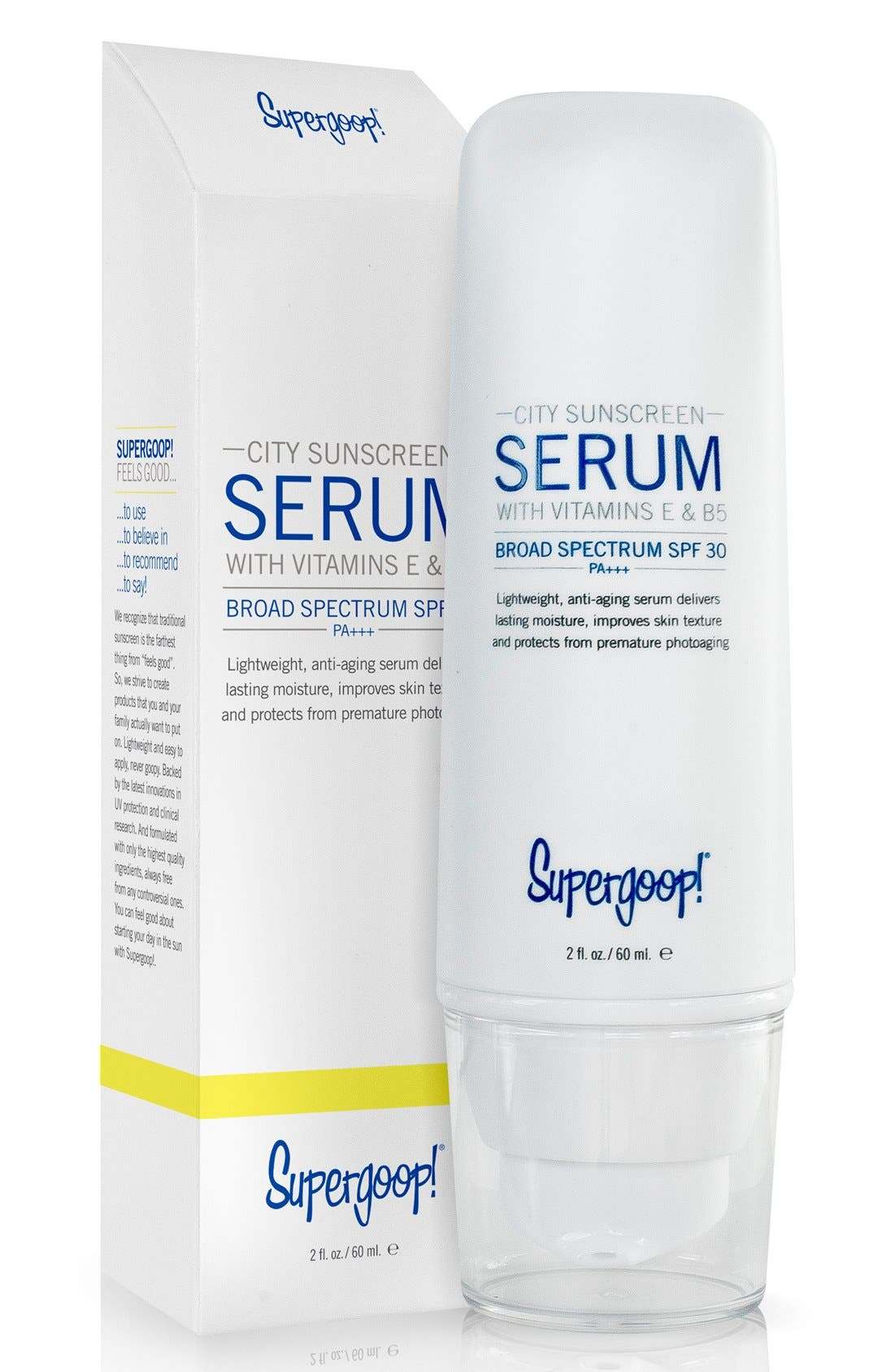 Supergoop! 'City Sunscreen' Serum SPF 30+ PA+++,                             Alternate thumbnail 3, color,                             NO COLOR