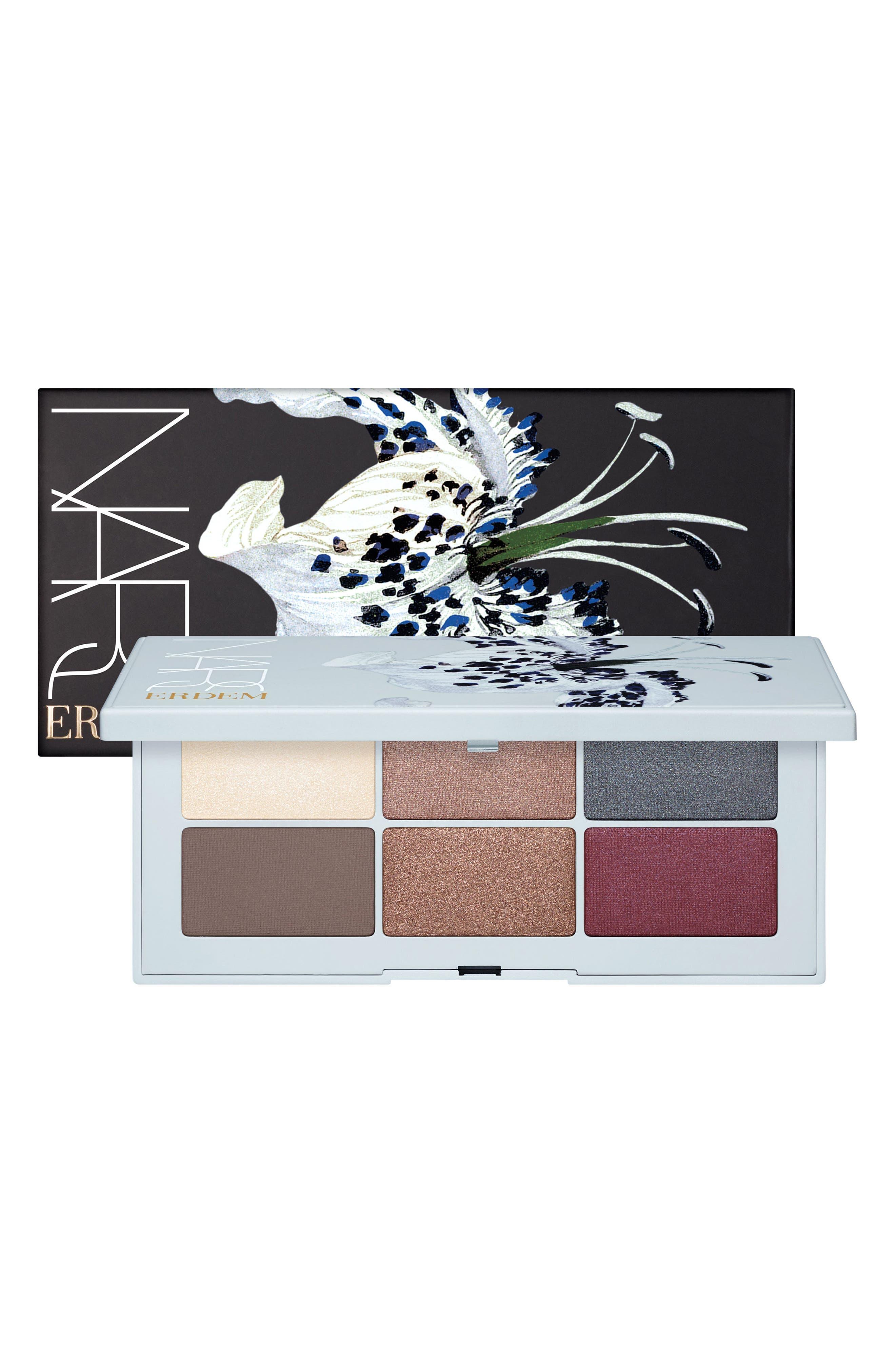 x Erdem Strange Flowers Eyeshadow Palette,                             Alternate thumbnail 2, color,                             000