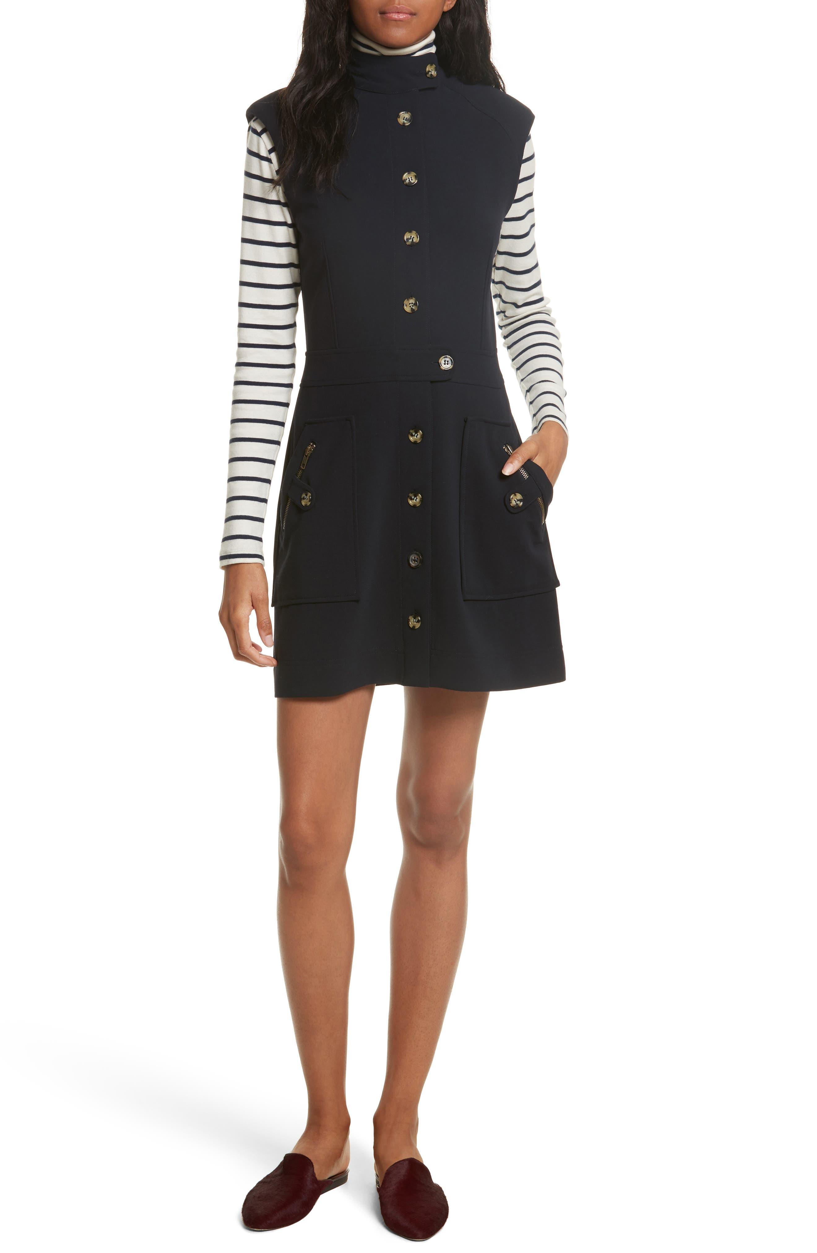 Leigh Mod Dress,                             Alternate thumbnail 7, color,                             414
