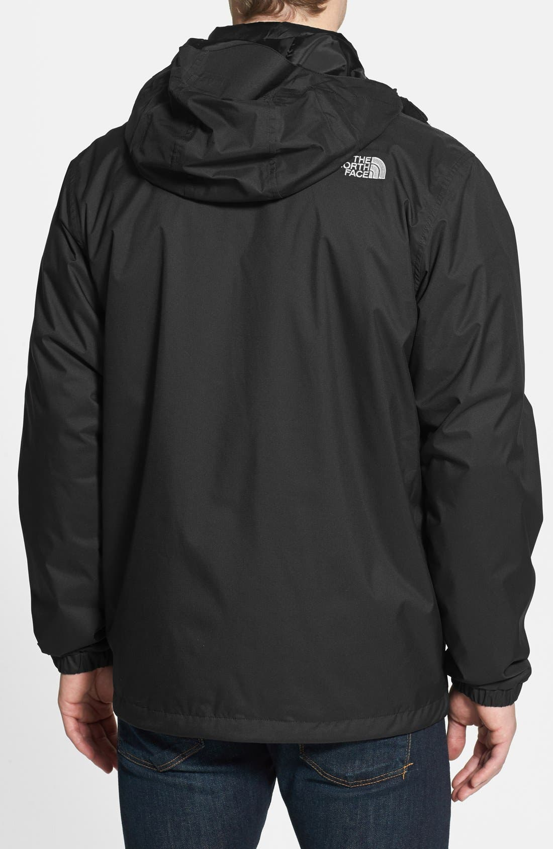 'All About' TriClimate<sup>®</sup> Waterproof Hooded 3-in-1 HyVent<sup>®</sup> Jacket,                             Alternate thumbnail 2, color,                             001