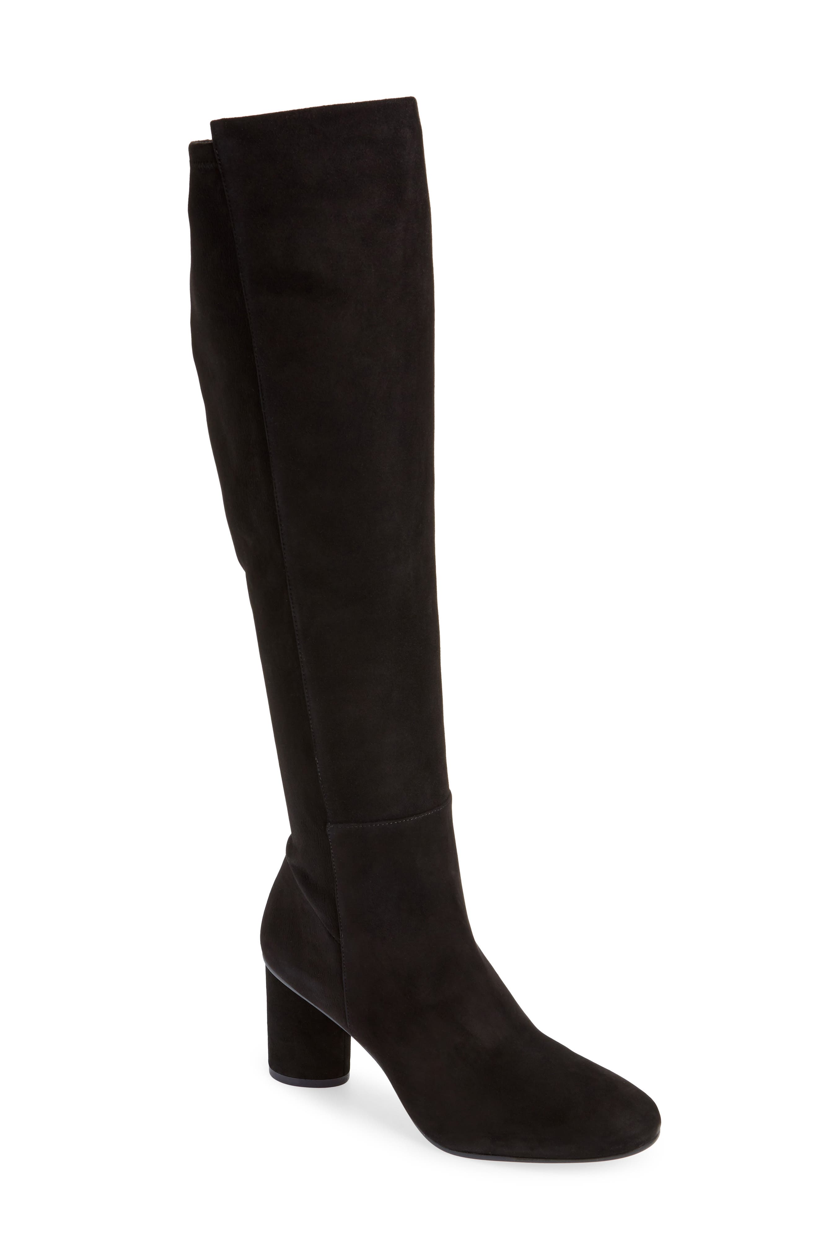 Eloise 75 Over the Knee Boot,                             Main thumbnail 1, color,                             002