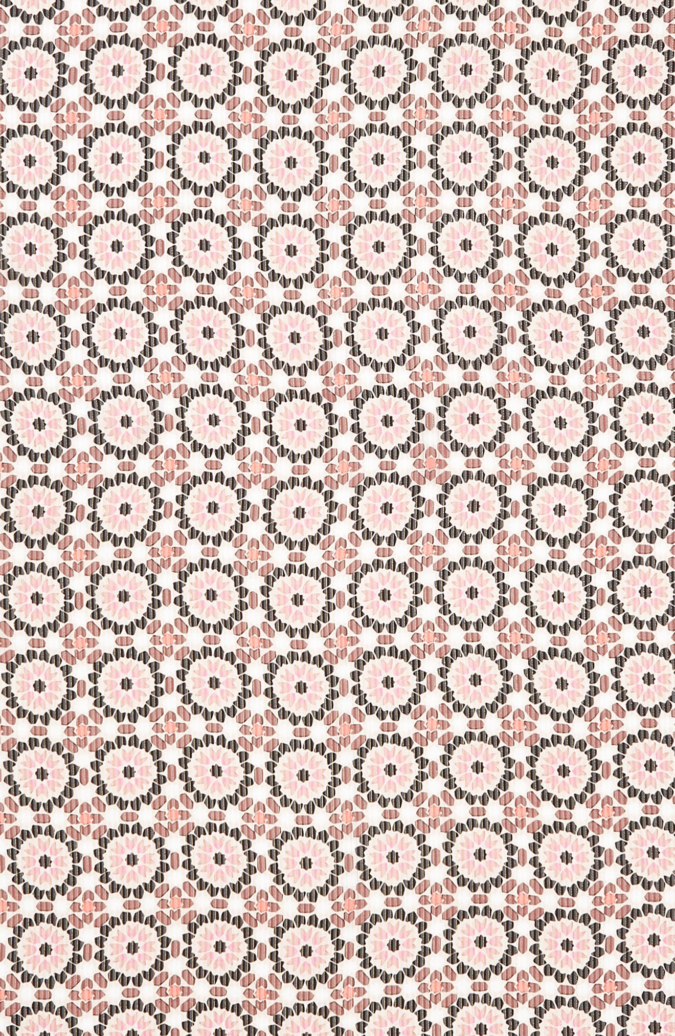floral mosaic scarf,                             Alternate thumbnail 4, color,                             650