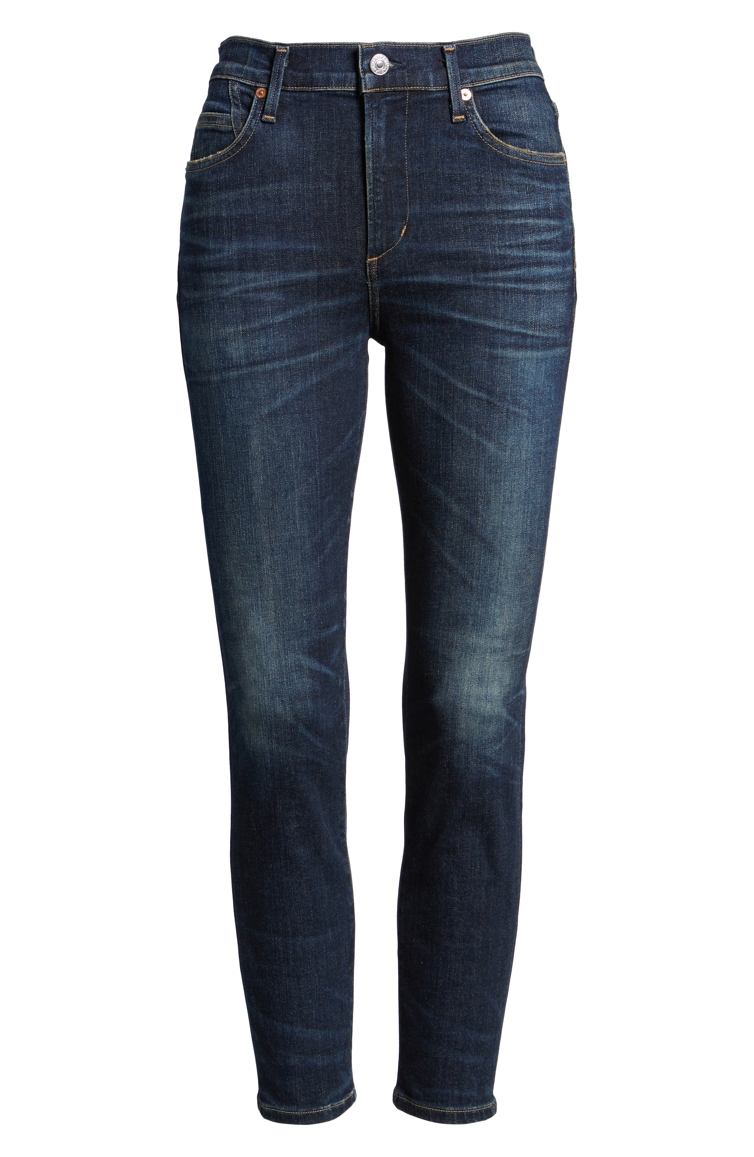Rocket High Waist Crop Skinny Jeans,                             Main thumbnail 1, color,                             410