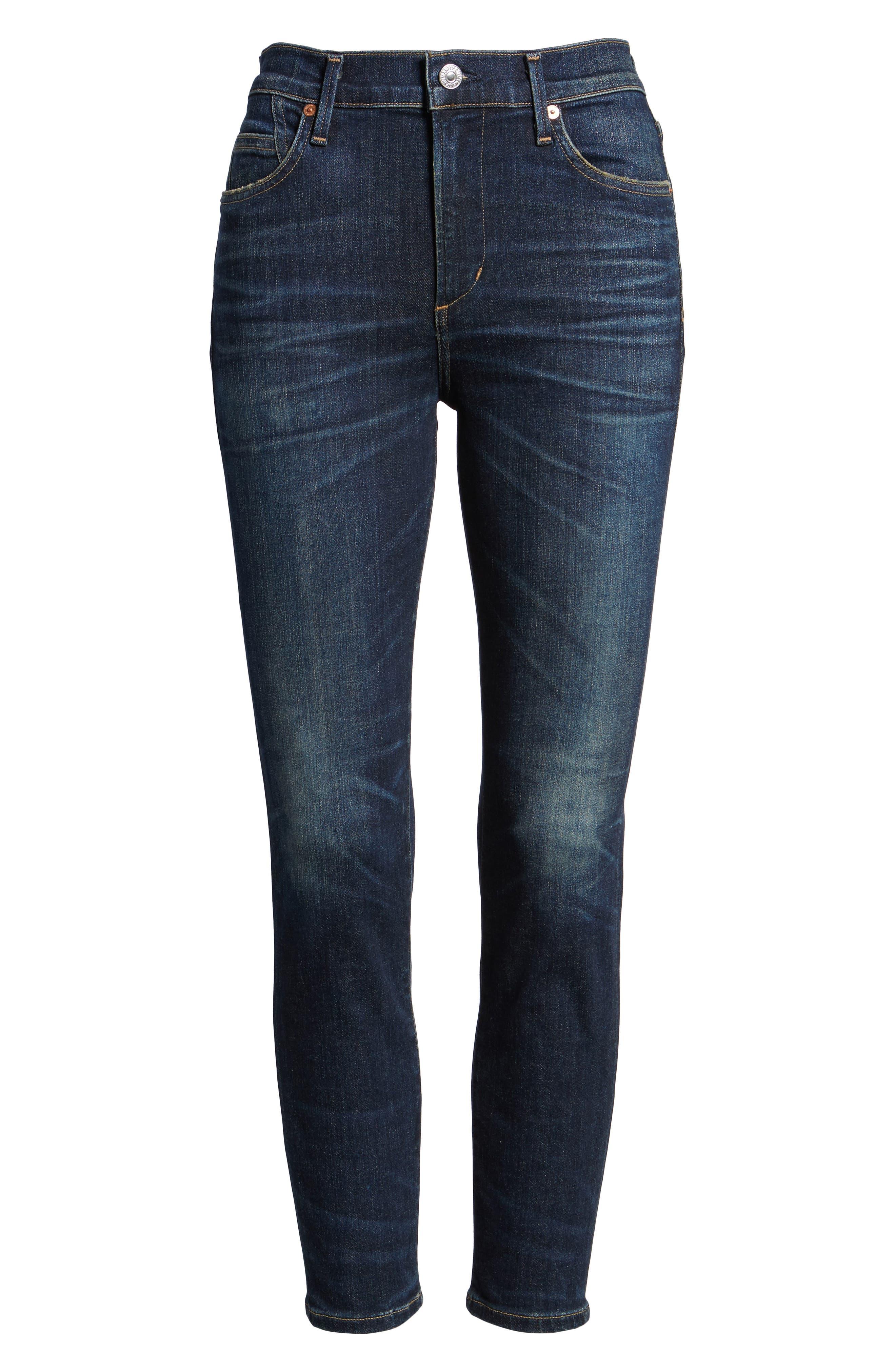 Rocket High Waist Crop Skinny Jeans,                         Main,                         color, 410
