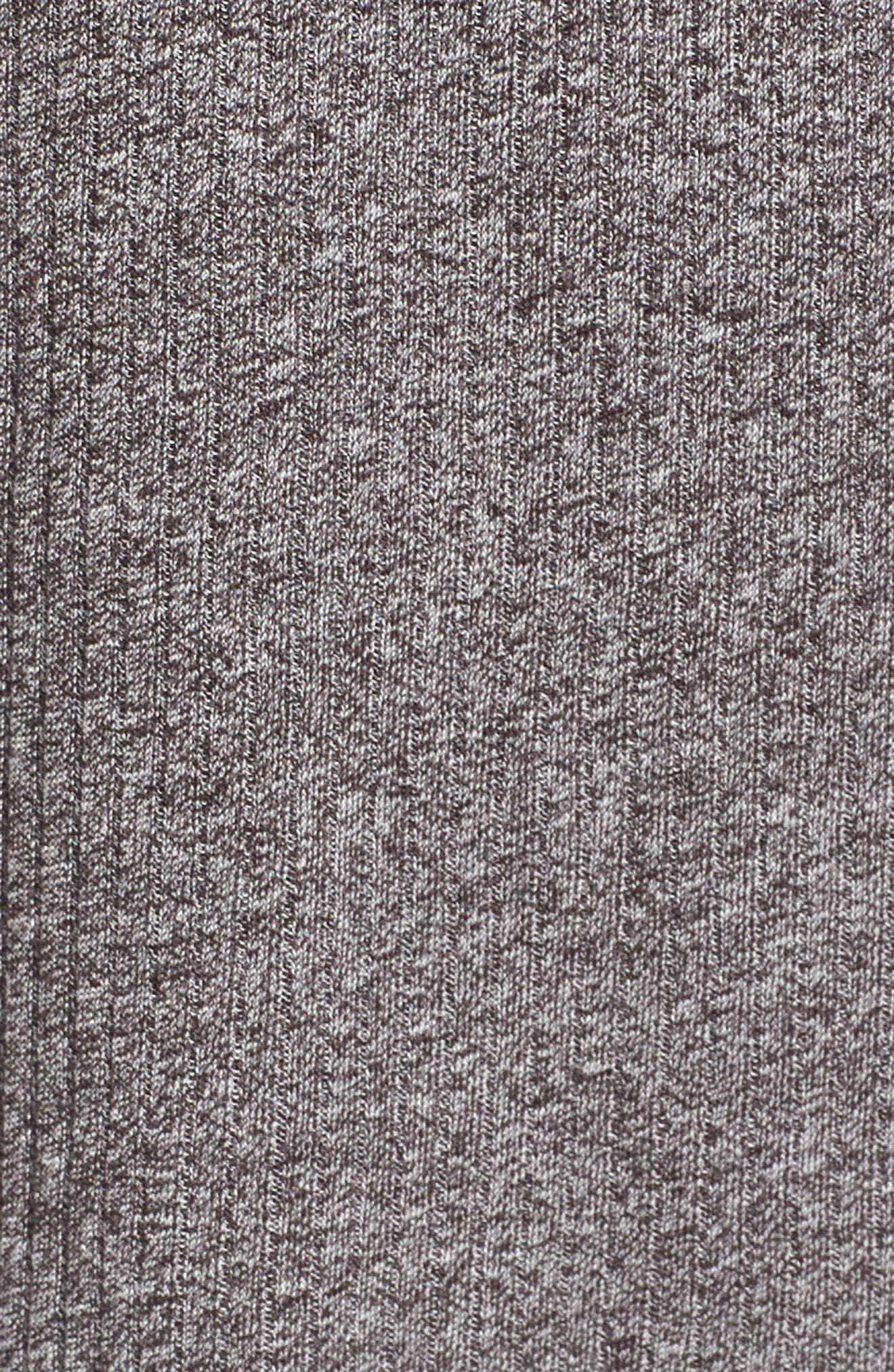 Barbados Rib Knit Dress,                             Alternate thumbnail 5, color,                             020