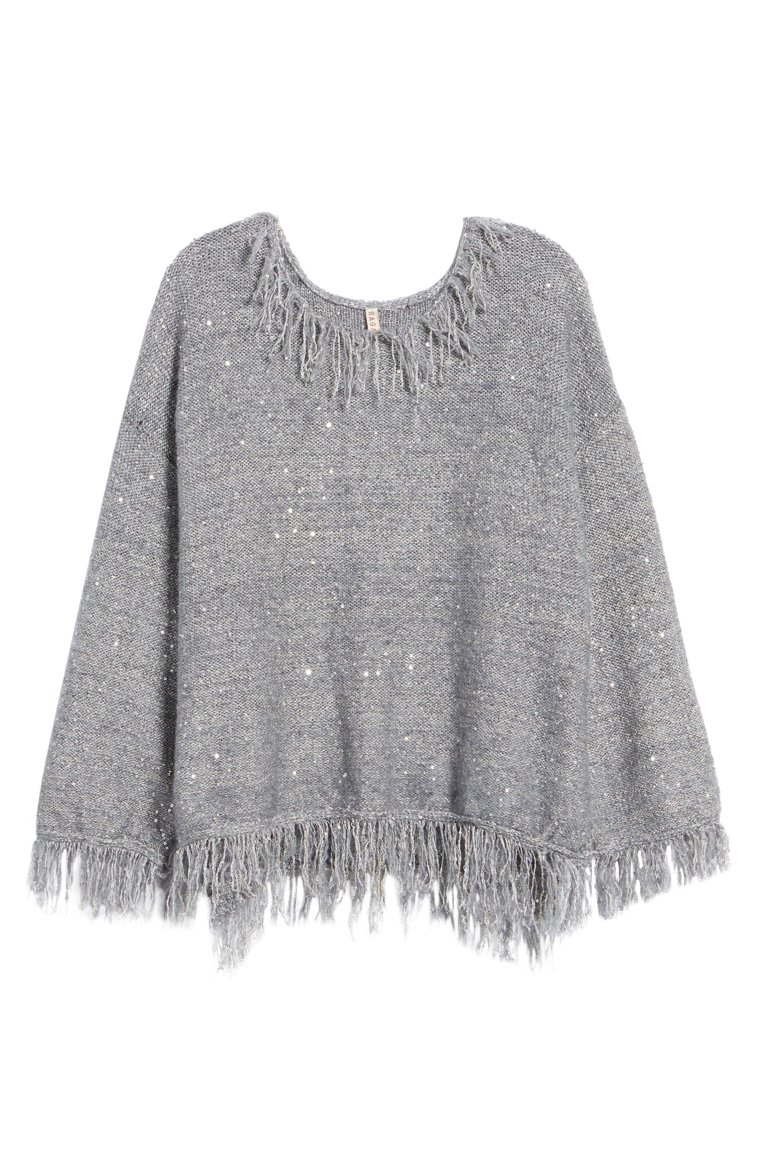 Savannah Frayed Sweater,                             Alternate thumbnail 6, color,                             020