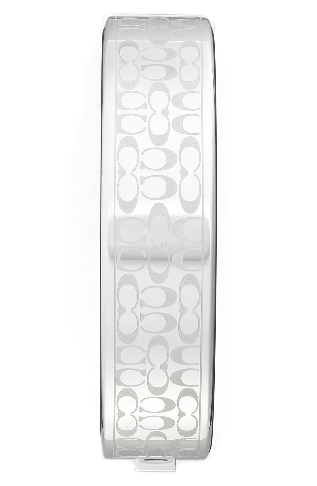 'Scout' Etched Bangle Watch, 16mm,                             Alternate thumbnail 4, color,