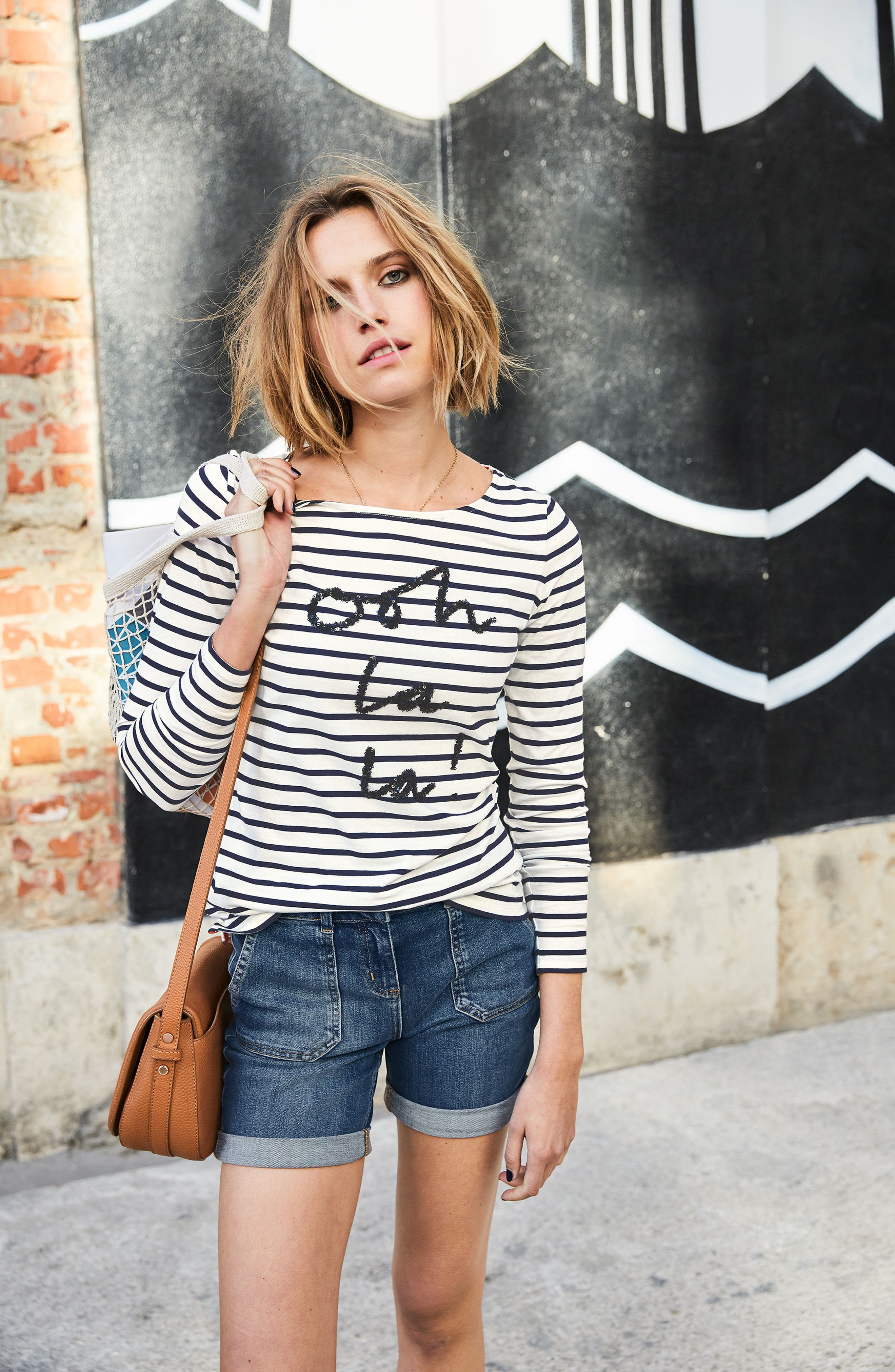 Make a Statement Stripe Top,                             Alternate thumbnail 3, color,                             414