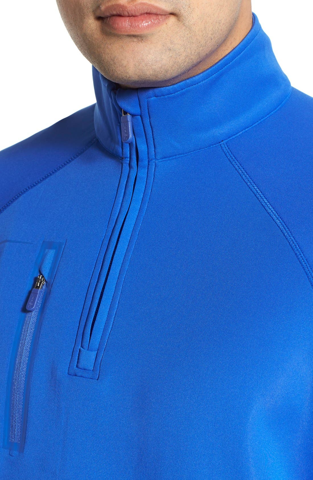 XH2O Crawford Stretch Quarter Zip Golf Pullover,                             Alternate thumbnail 47, color,