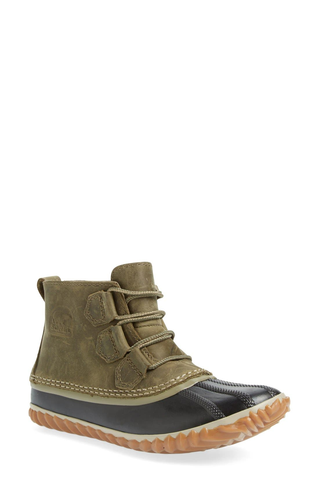 'Out N About' Leather Boot,                             Main thumbnail 8, color,