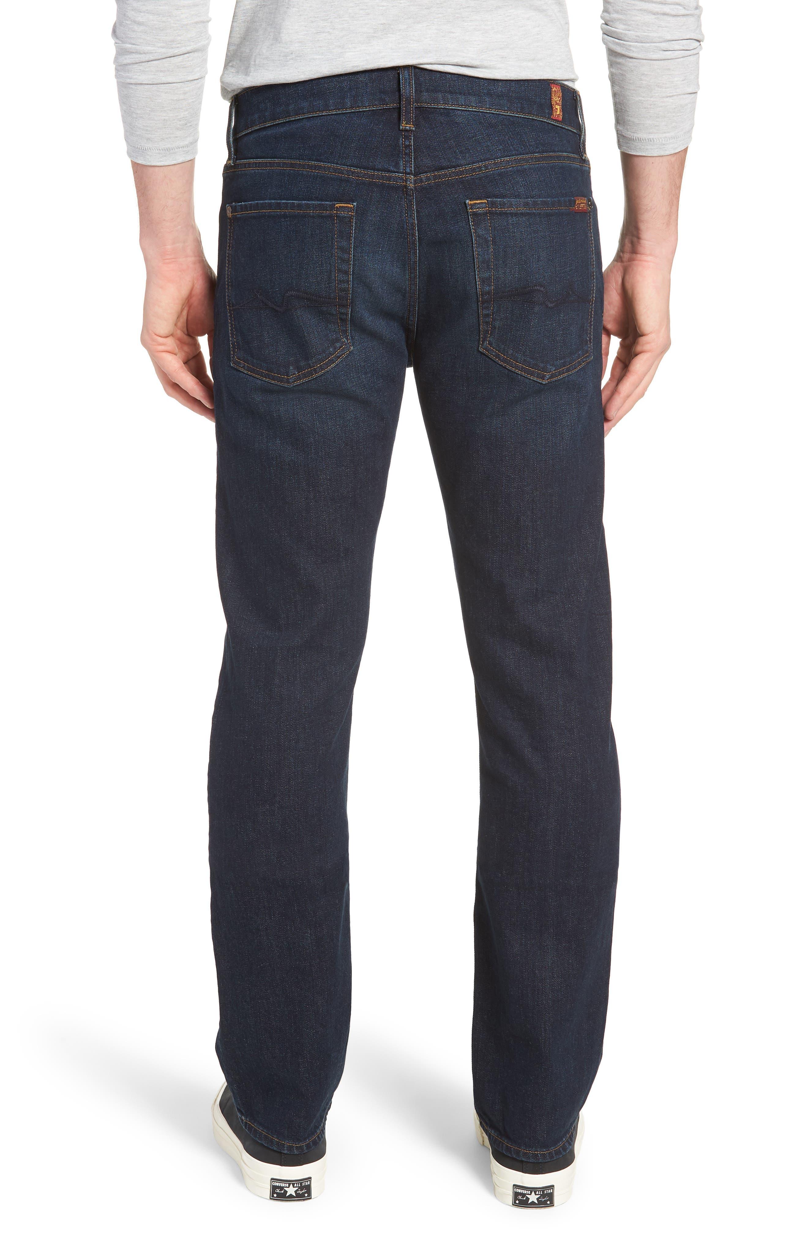 Standard Straight Leg Jeans,                             Alternate thumbnail 2, color,                             ABERDEEN