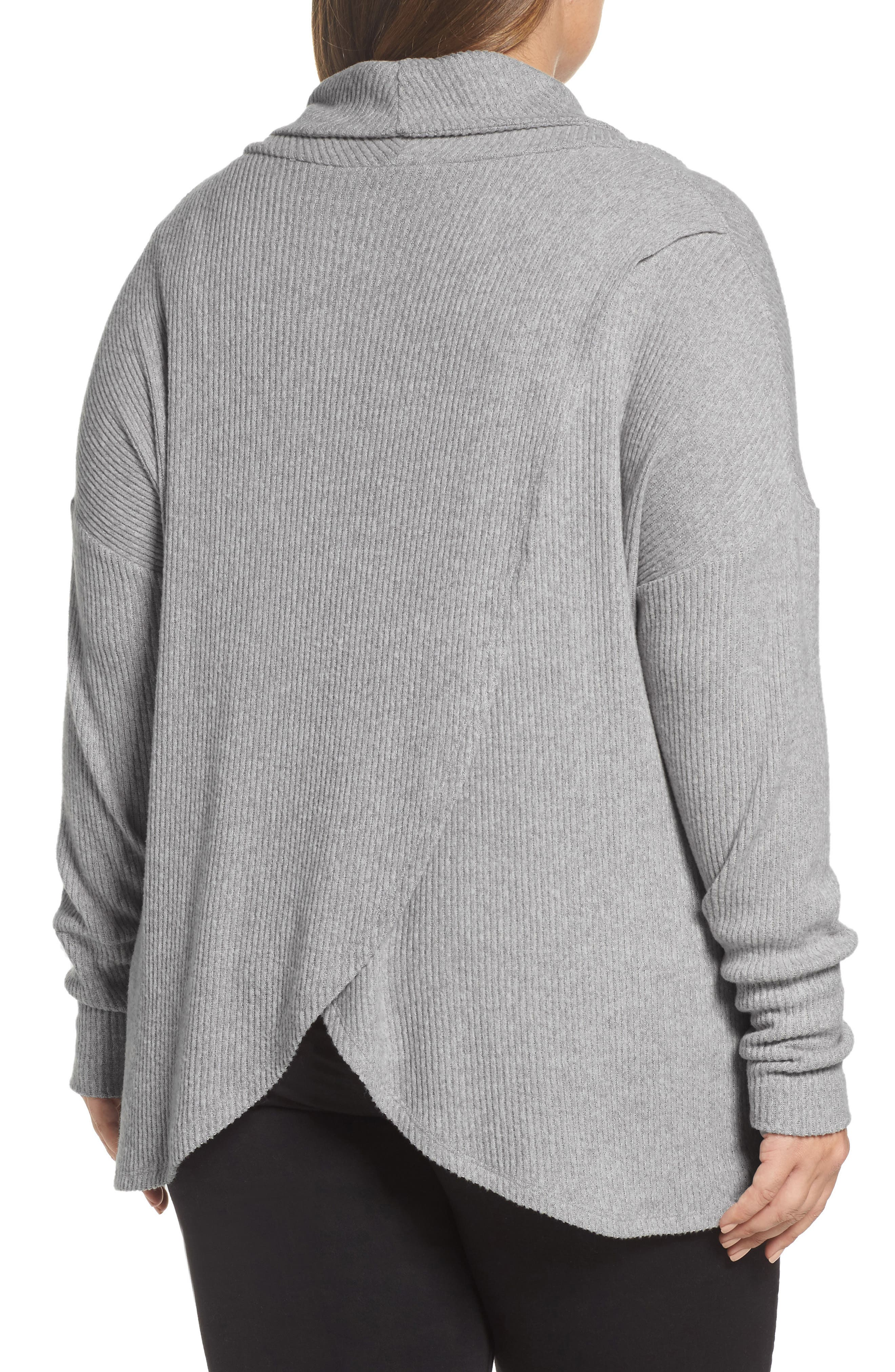 Cowl Neck Pullover,                             Alternate thumbnail 2, color,                             034
