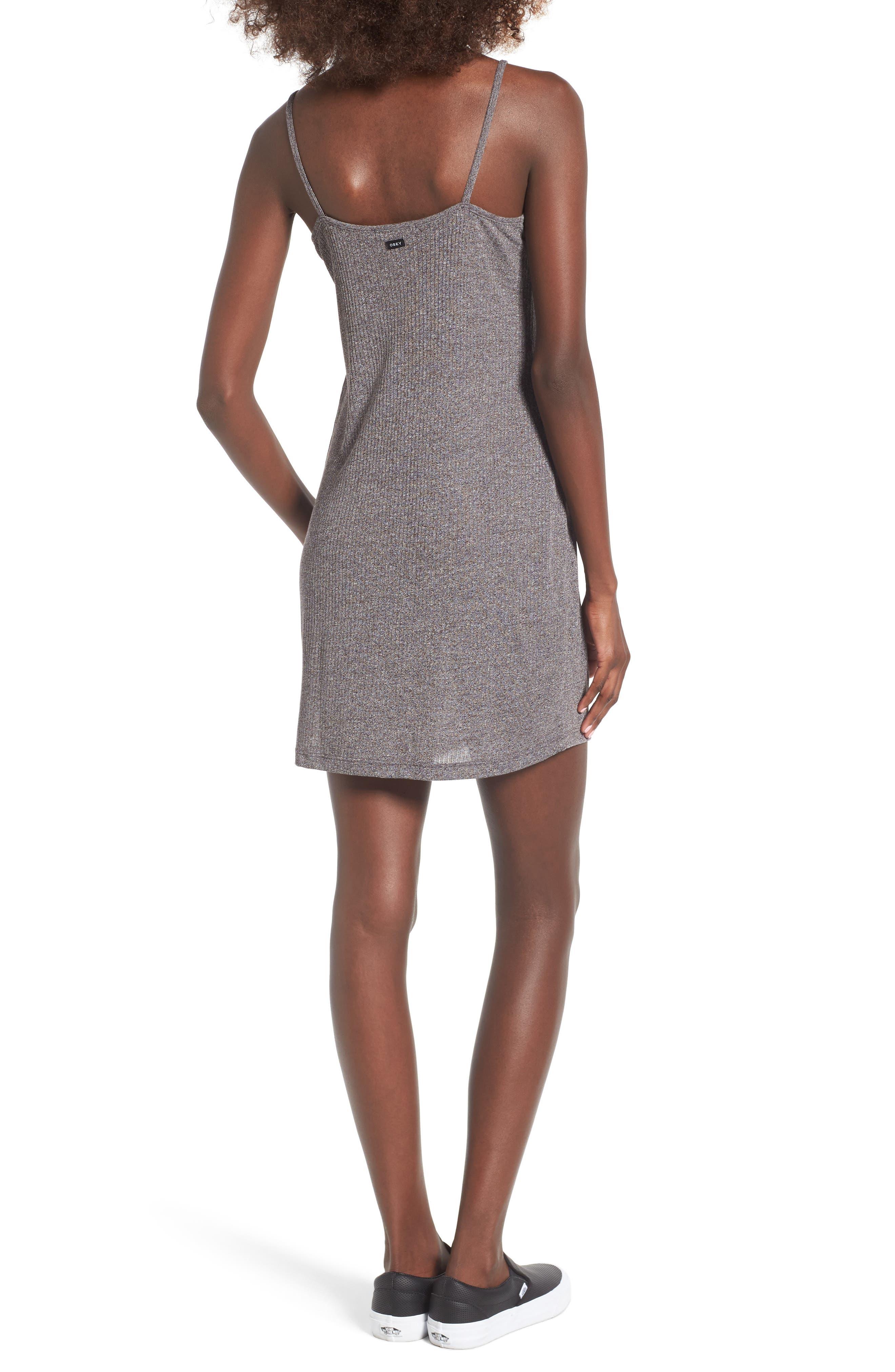 Barbados Rib Knit Dress,                             Alternate thumbnail 2, color,                             020