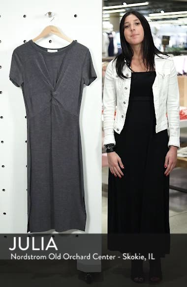 Twist Front Midi Dress, sales video thumbnail