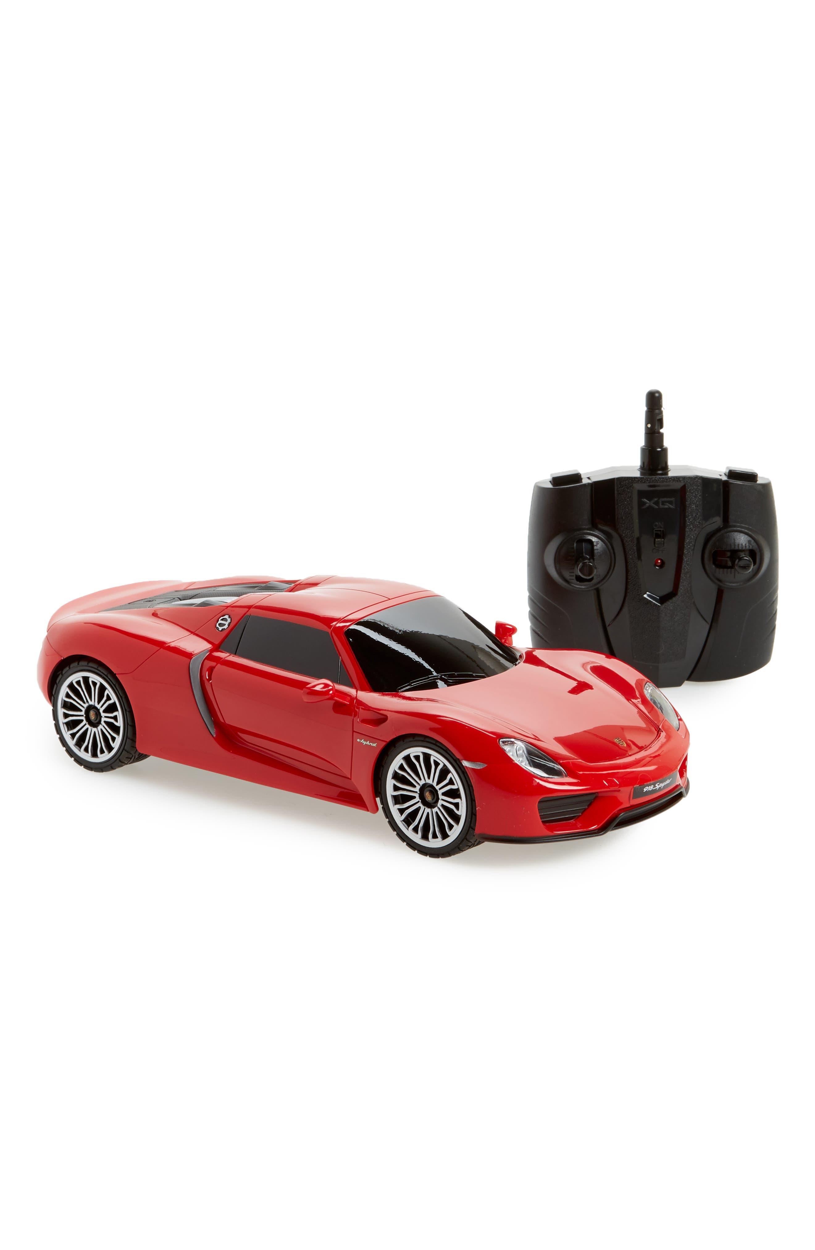 Boys Autotec Porsche Spyder 118 Scale Model Remote Control Car Toy