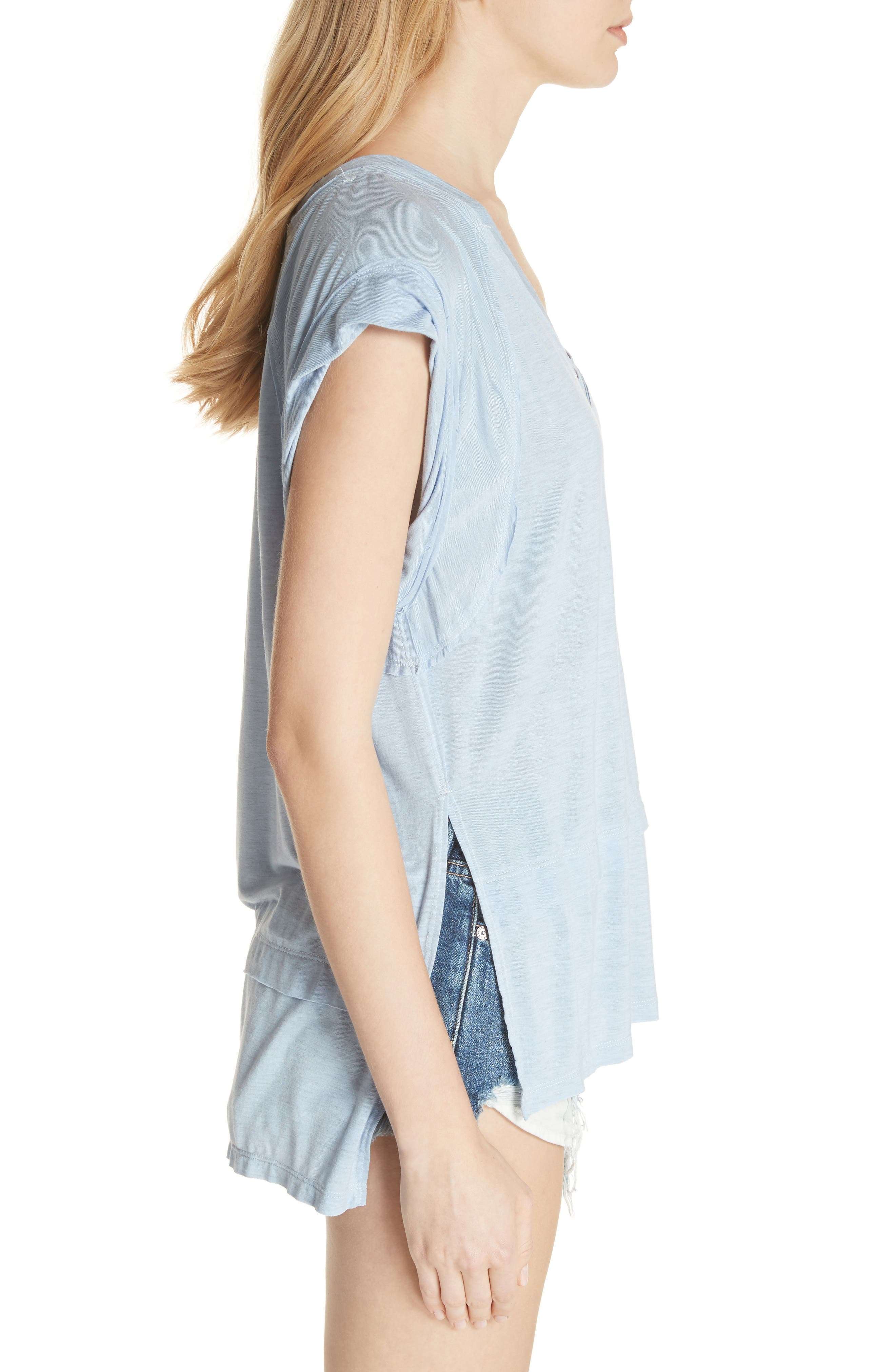 We the Free by Free People Voyage Tee,                             Alternate thumbnail 13, color,