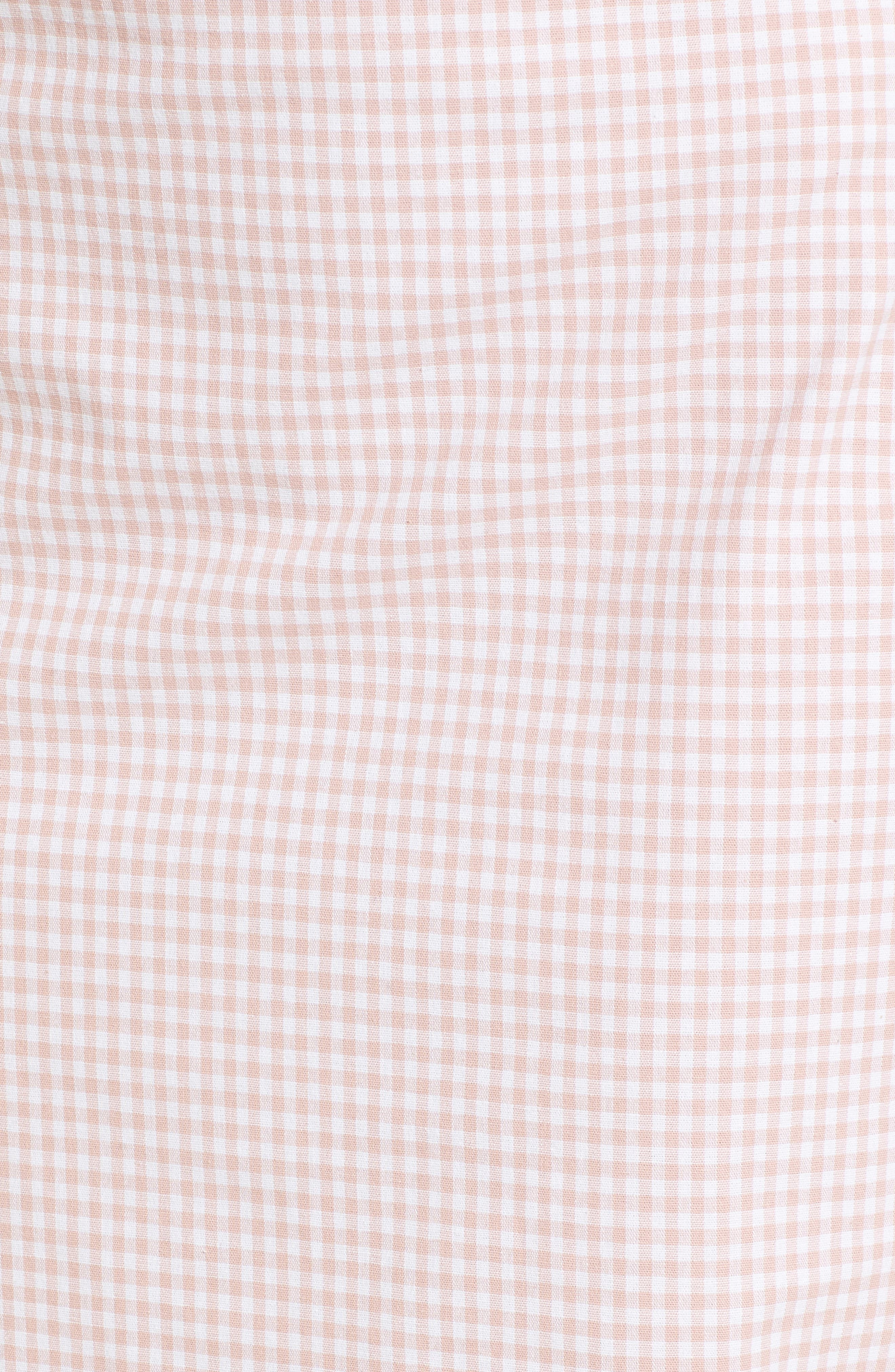 Strapless Gingham Dress,                             Alternate thumbnail 10, color,